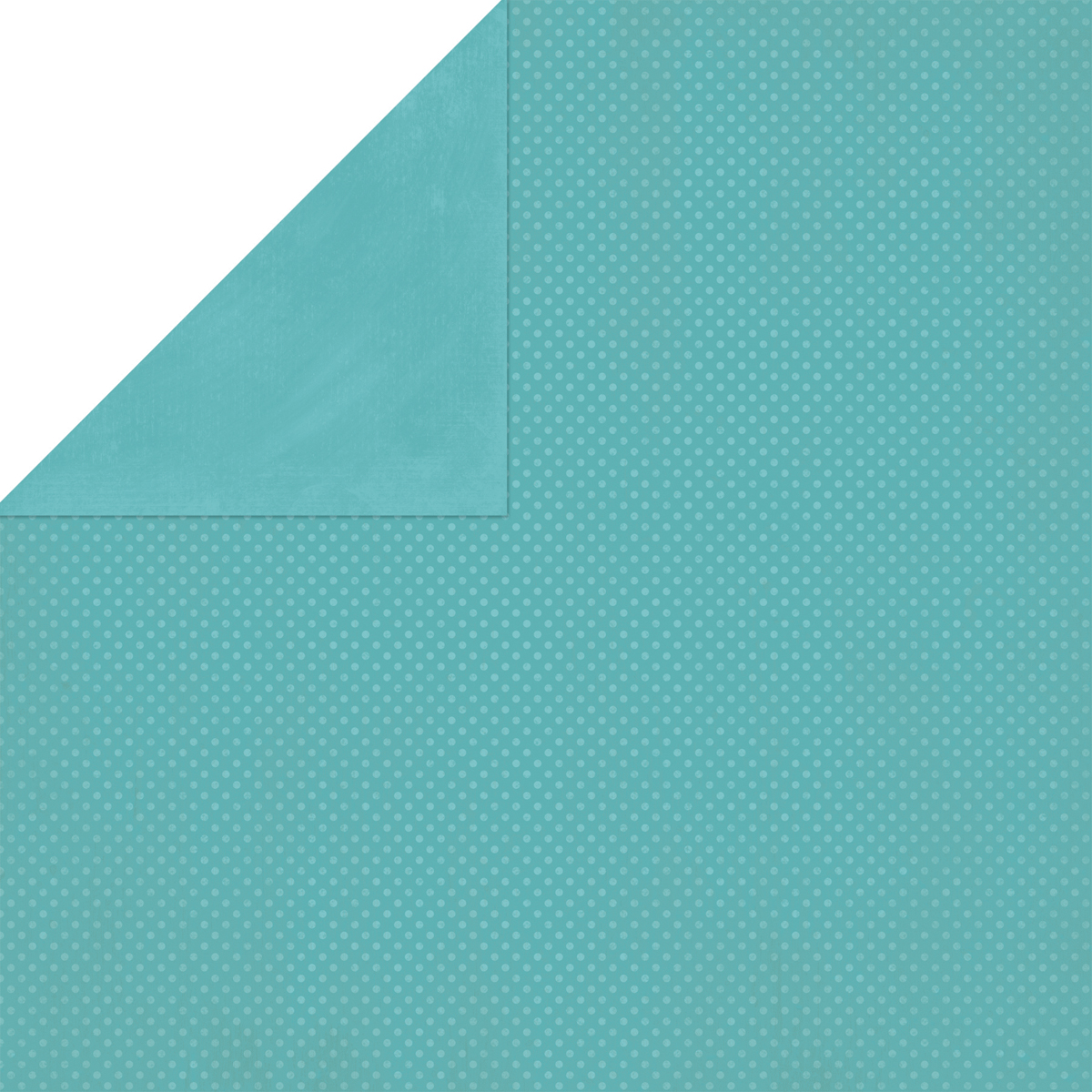 BoBunny Double Dot Double-Sided Textured Cardstock 12X12-Aquamarine