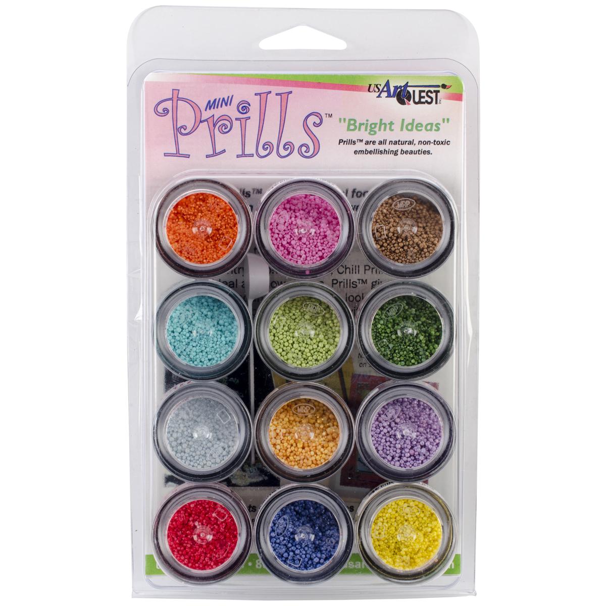 US Artquest Mini Prills 3g 12/Pkg-Bright Ideas