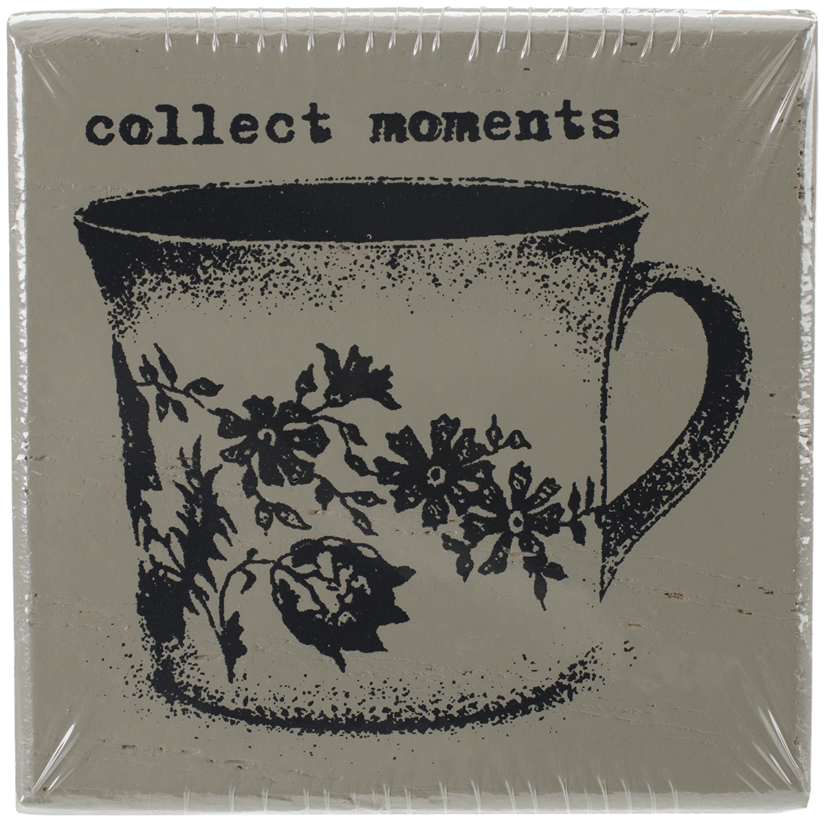 Finnabair Wood Mounted Stamps 2X2-Collect Moments