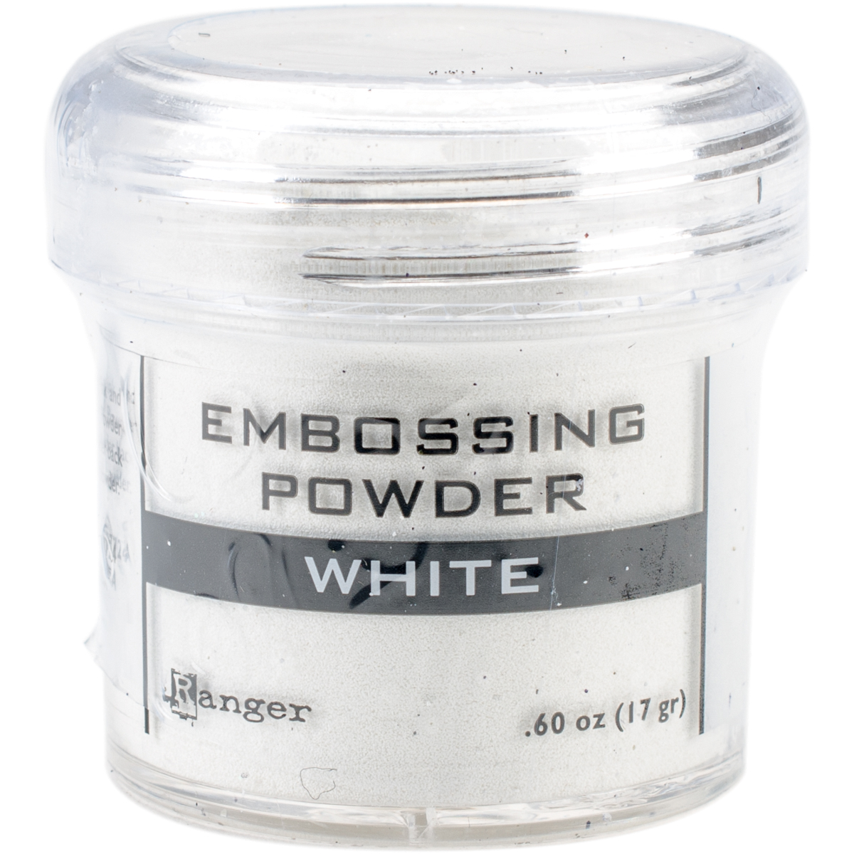 WHITE     -EMBOSSING POWDER 1OZ