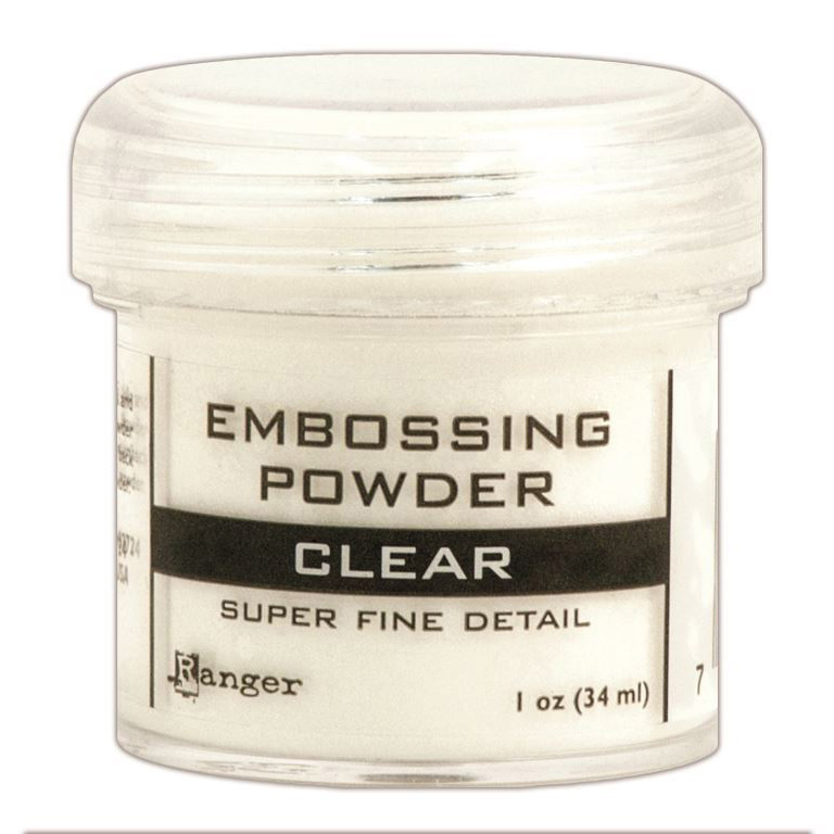 Ranger Embossing Powder-Super Fine Clear