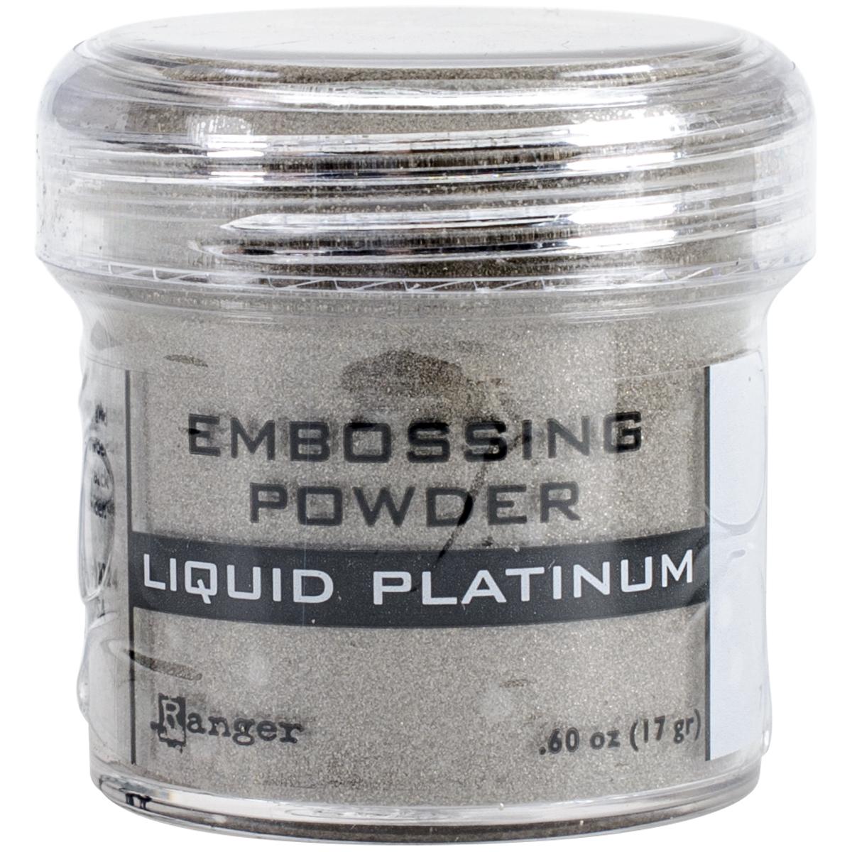 EMBOSSING POWDER - LIQUID PLATINUM