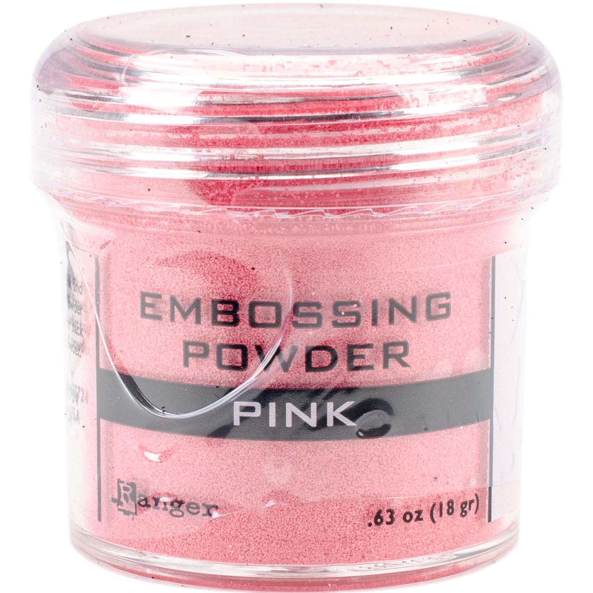 Embossing Powder Pink Opaque