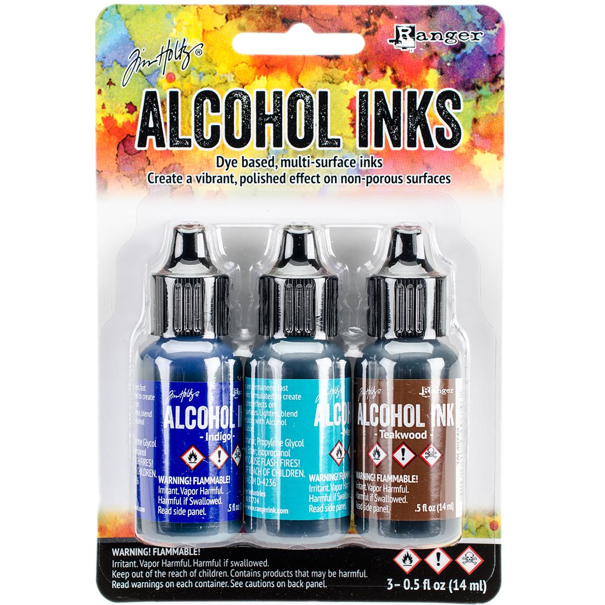 Tim Holtz Alcohol Inks - Mariner