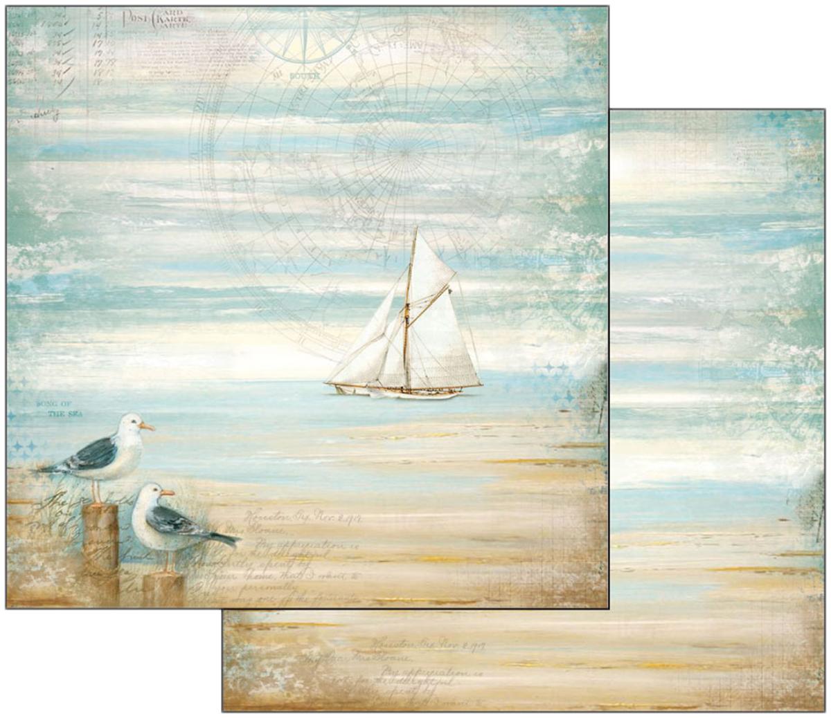 Stamperia Seagulls 12x12 paper