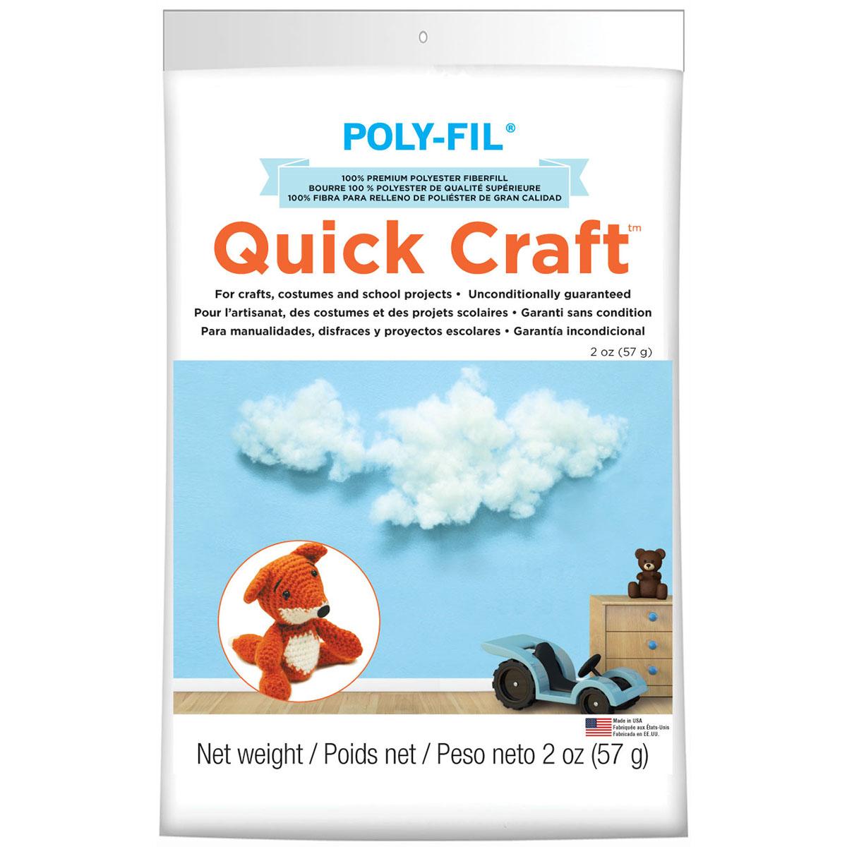 Quick Craft Poly-fil 2 oz.