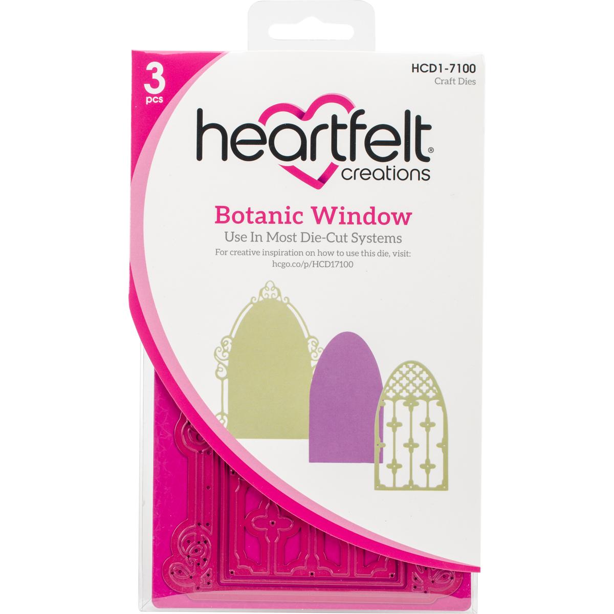 Hearfelt Creations Botanic Window die