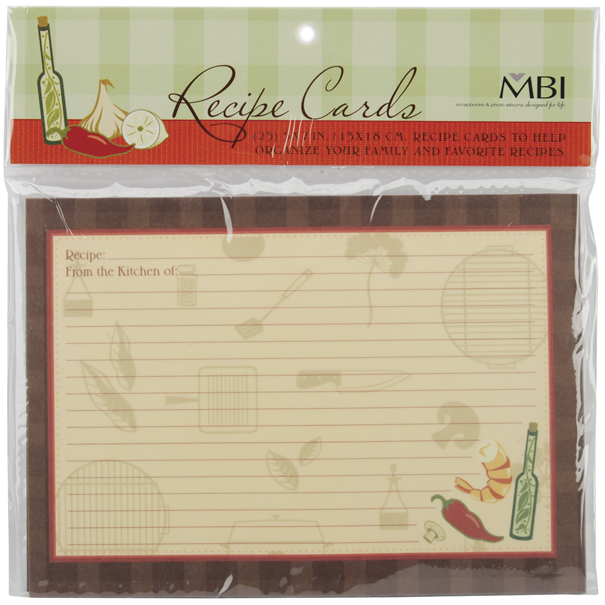 MBI FAMILY RECIPE CARDS
