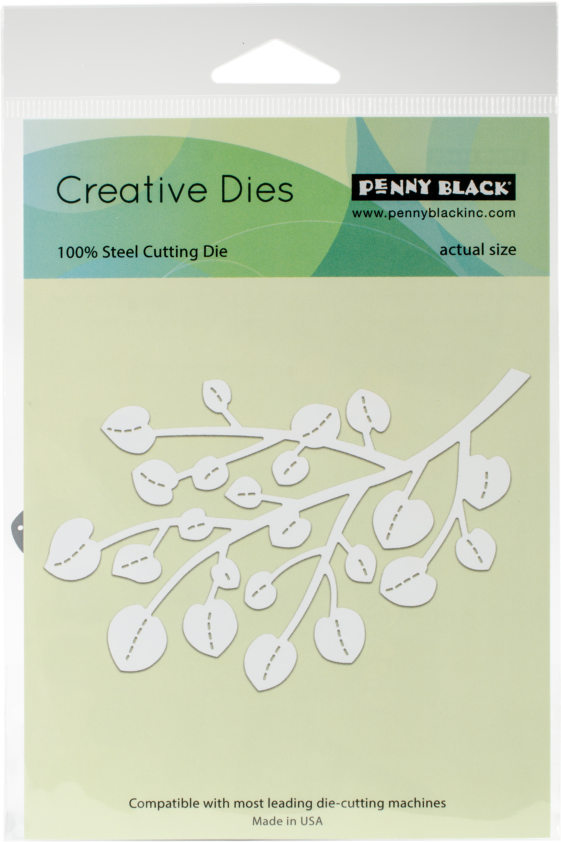 Penny Black Creative Dies-Bold Branch, 4.4X2.9
