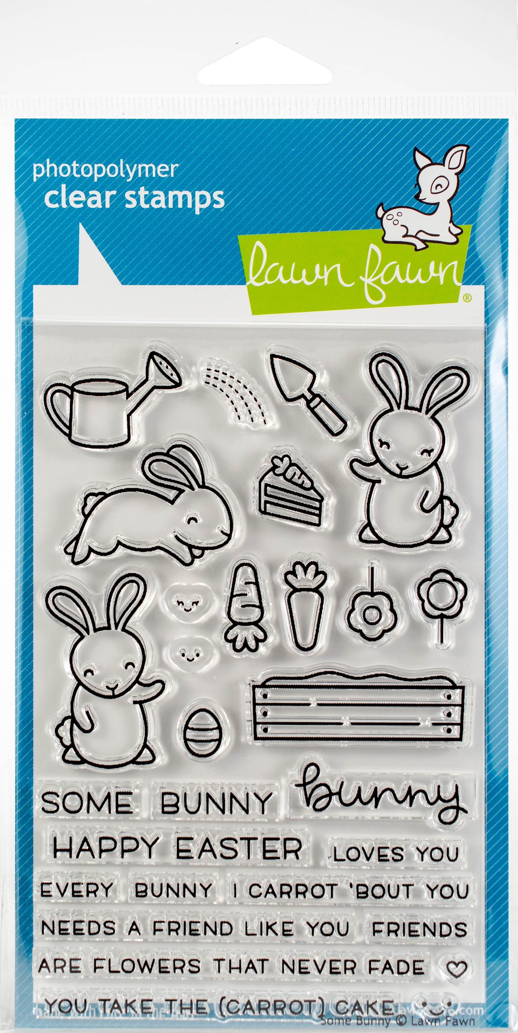 Lawn Fawn Clear Stamps 4X6-Some Bunny