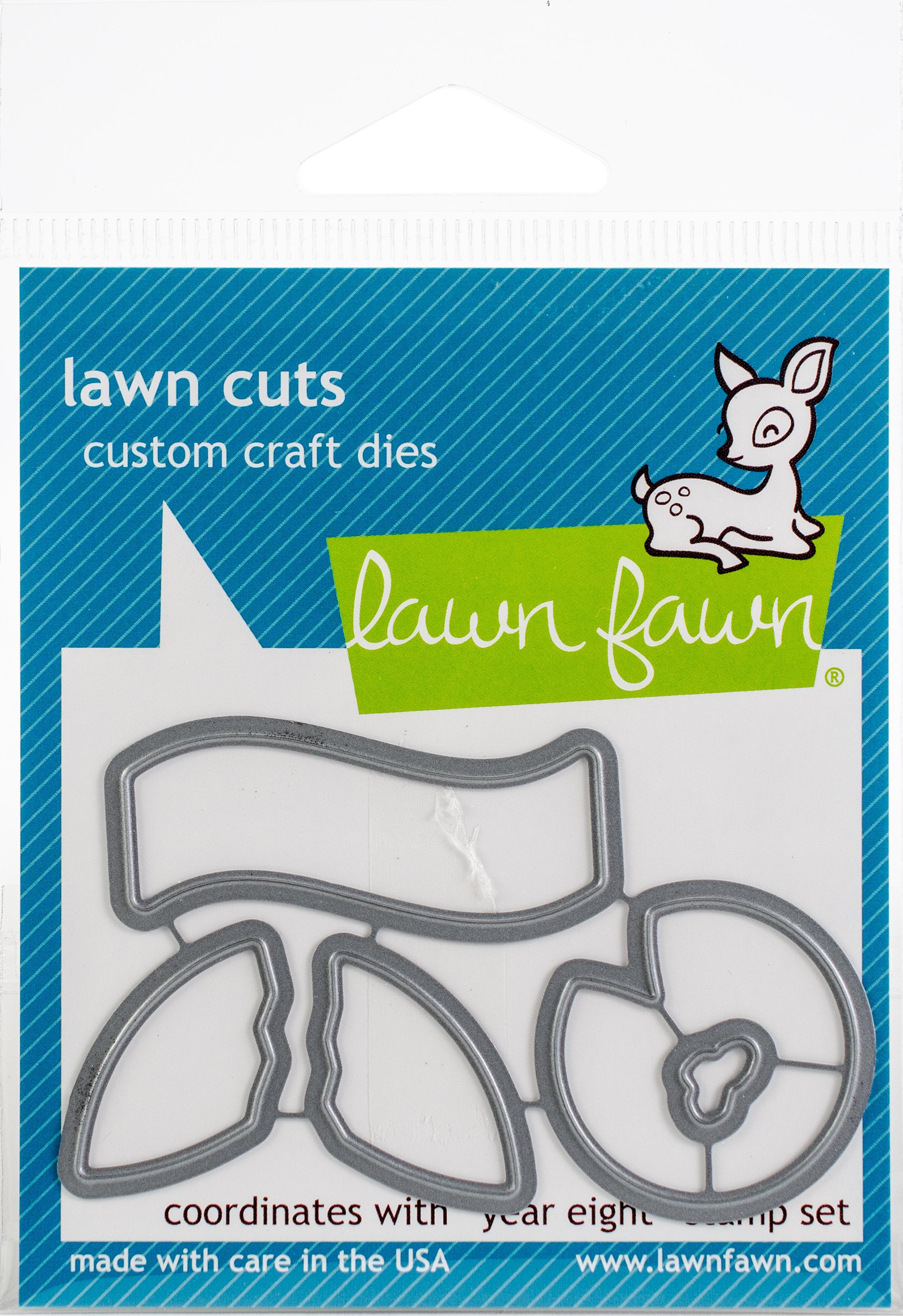Lawn Cuts Custom Craft Die -Year Eight