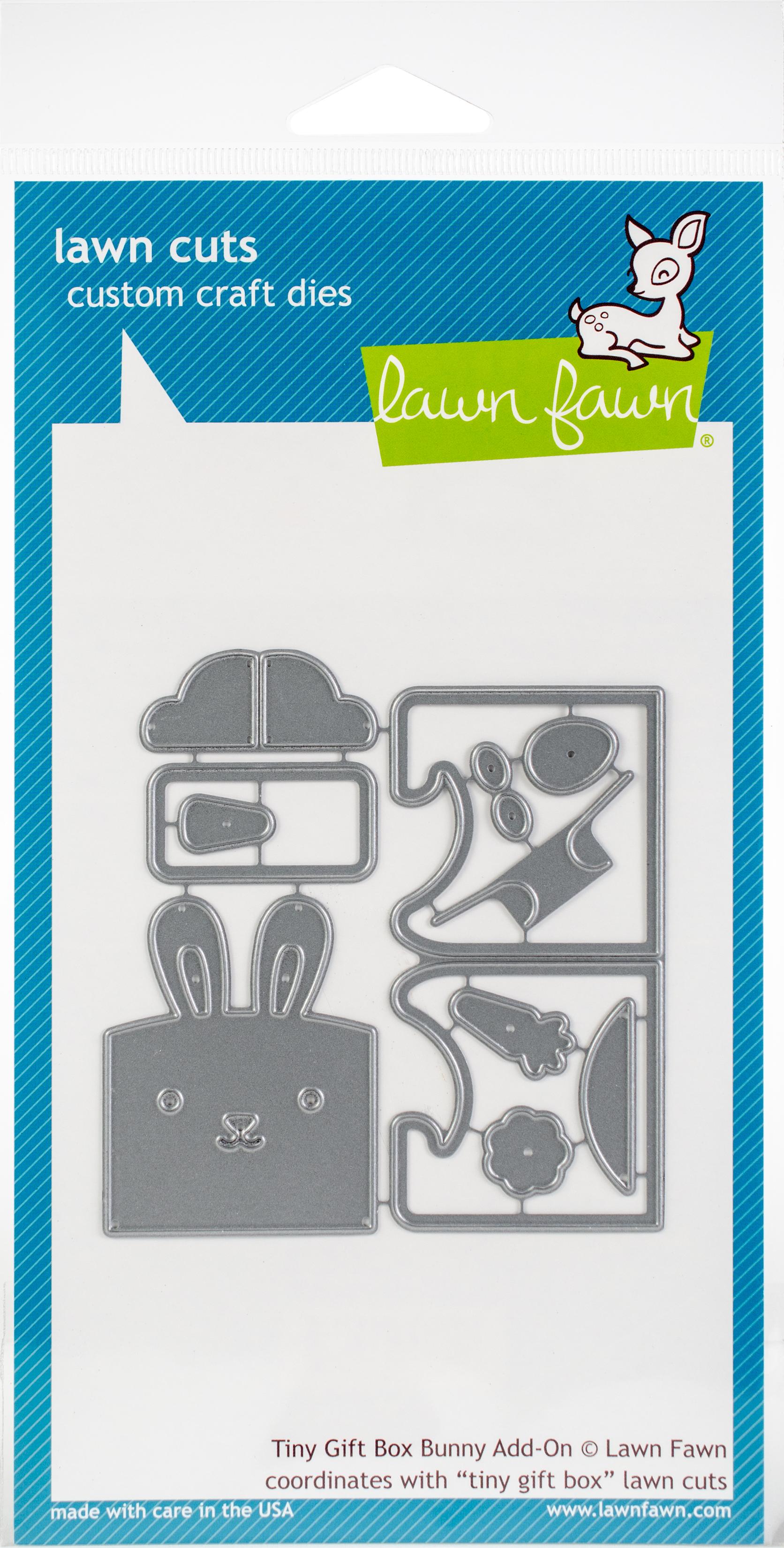 Tiny Gift Box Bunny Add-On Die