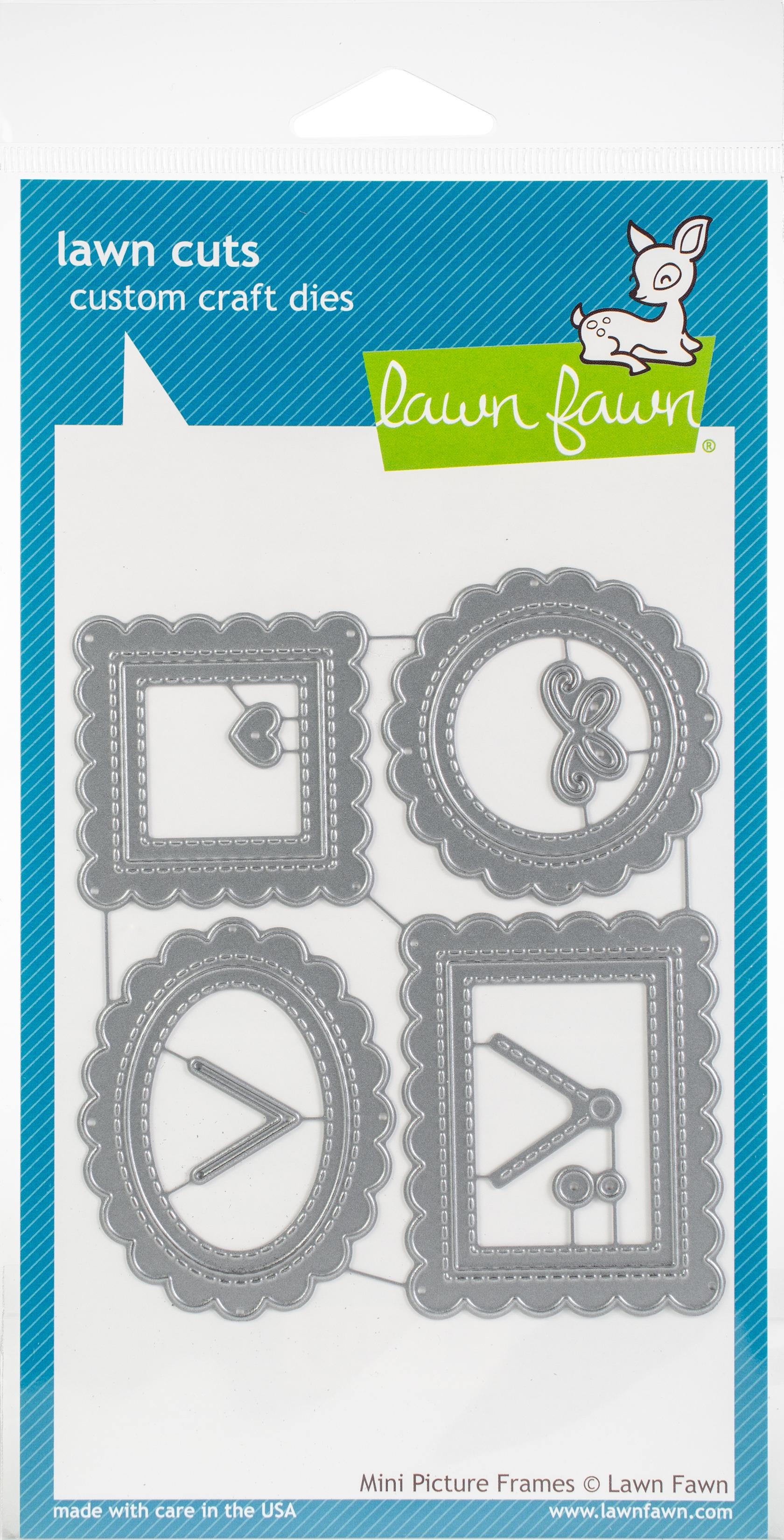 Lawn Cuts Custom Craft Die -Mini Picture Frames