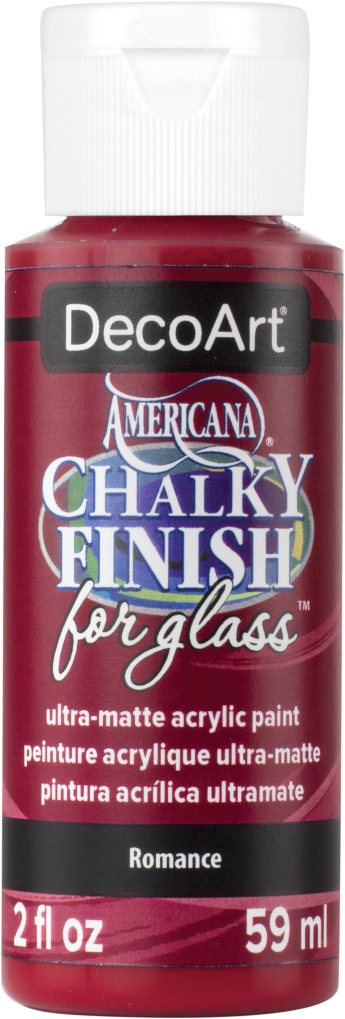 Americana Chalky Finish For Glass 2oz-Vintage