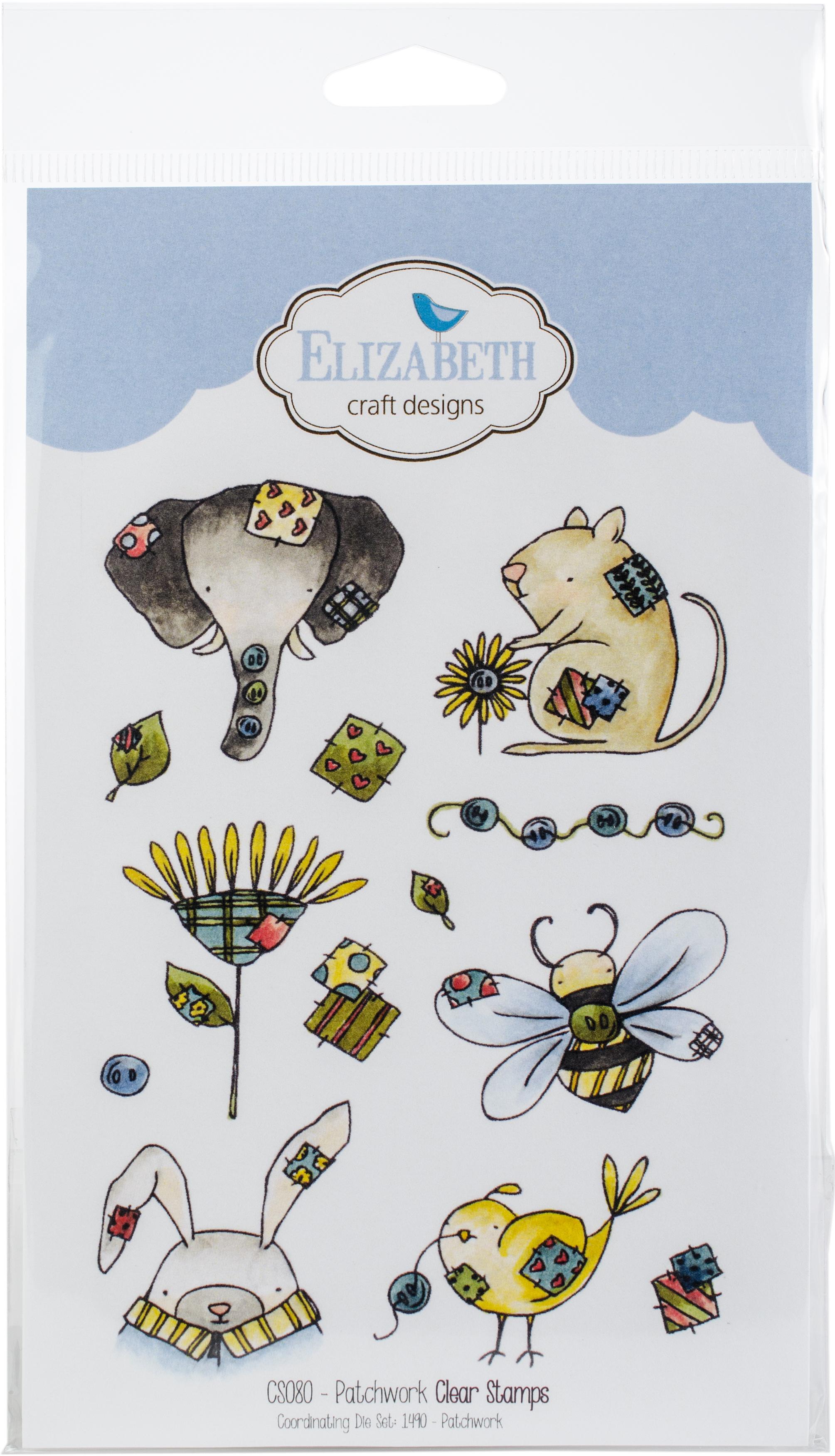 Elizabeth Craft Clear Stamps-Patchwork