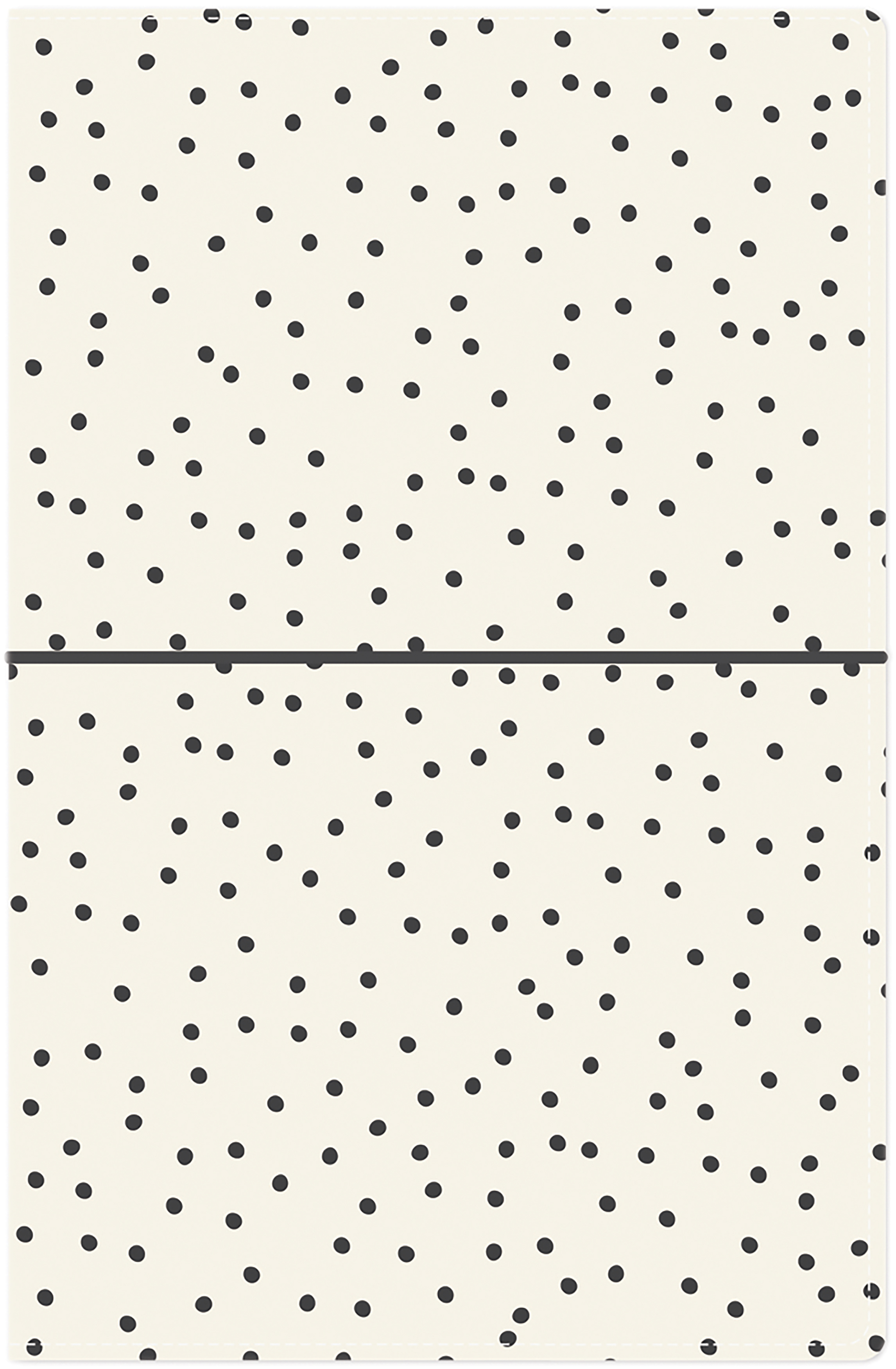 Carpe Diem - Cream Dot Traveler's Notebook