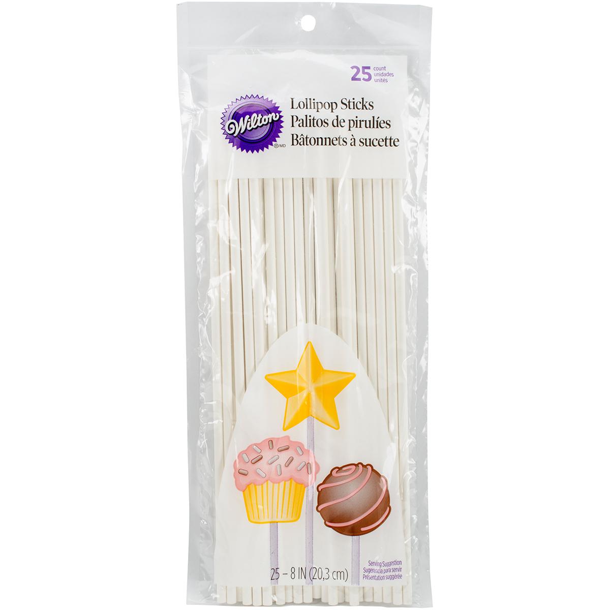 Lollipop Sticks 25 pack