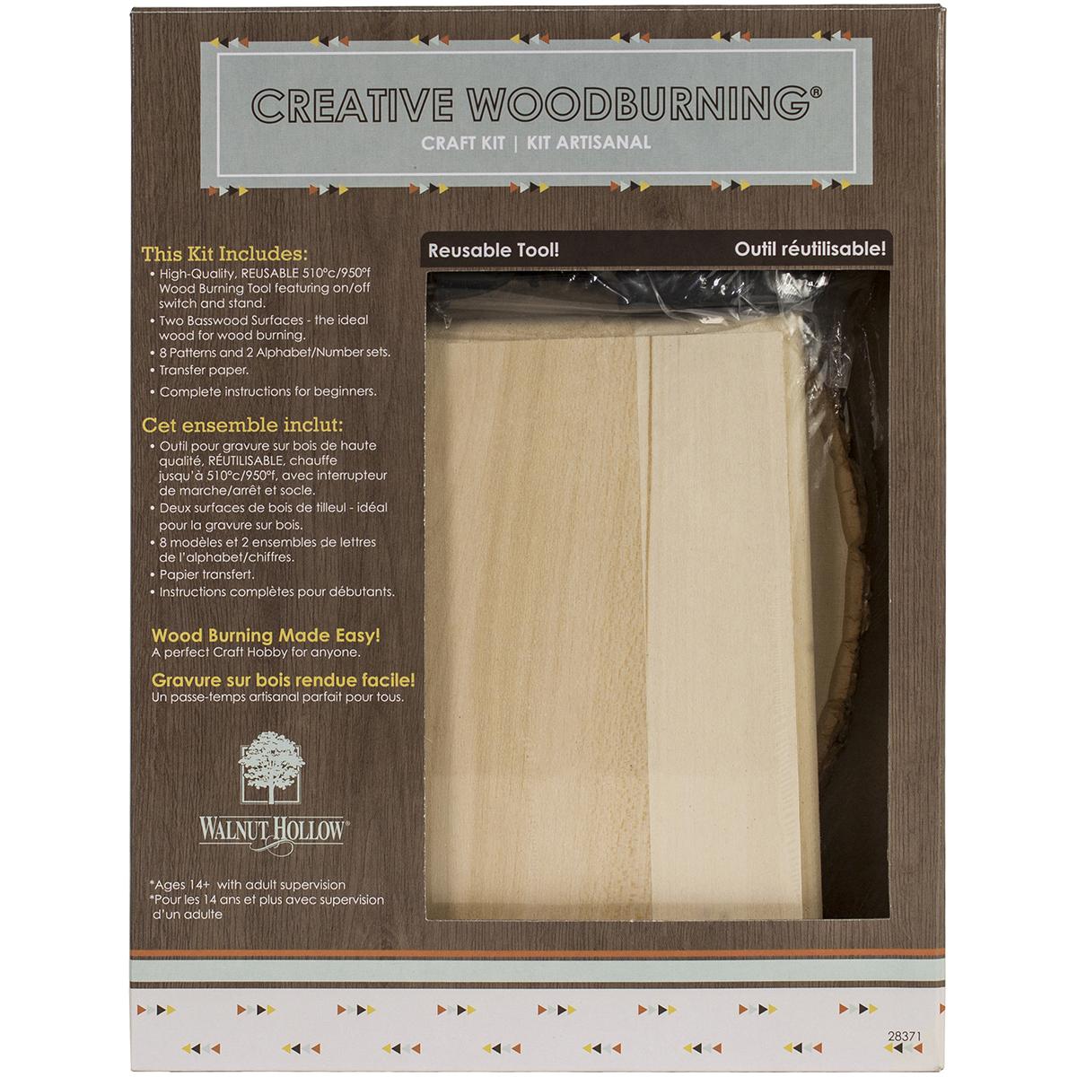 Creative Woodburning Craft Kit