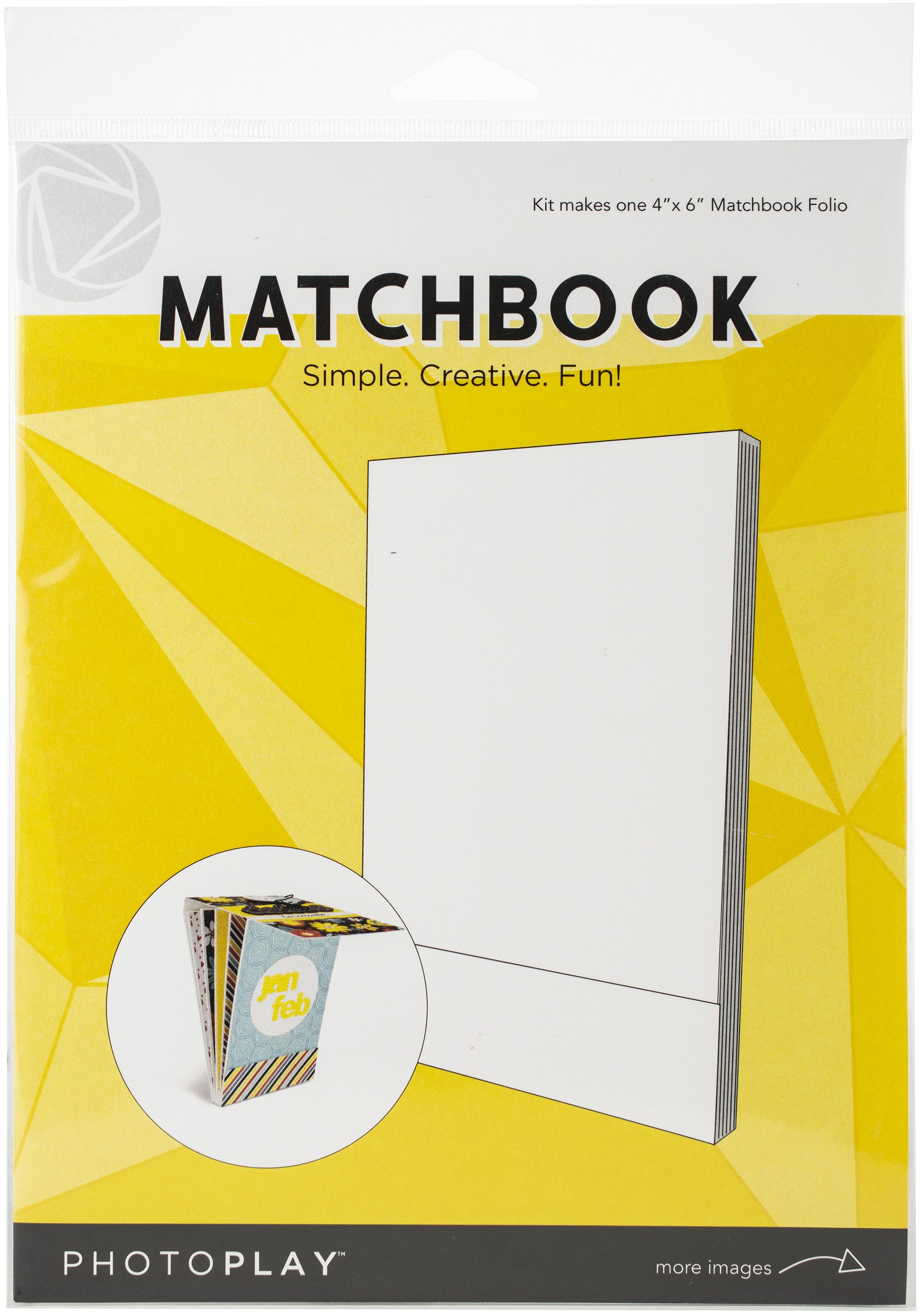 Matchbook 4x6 White