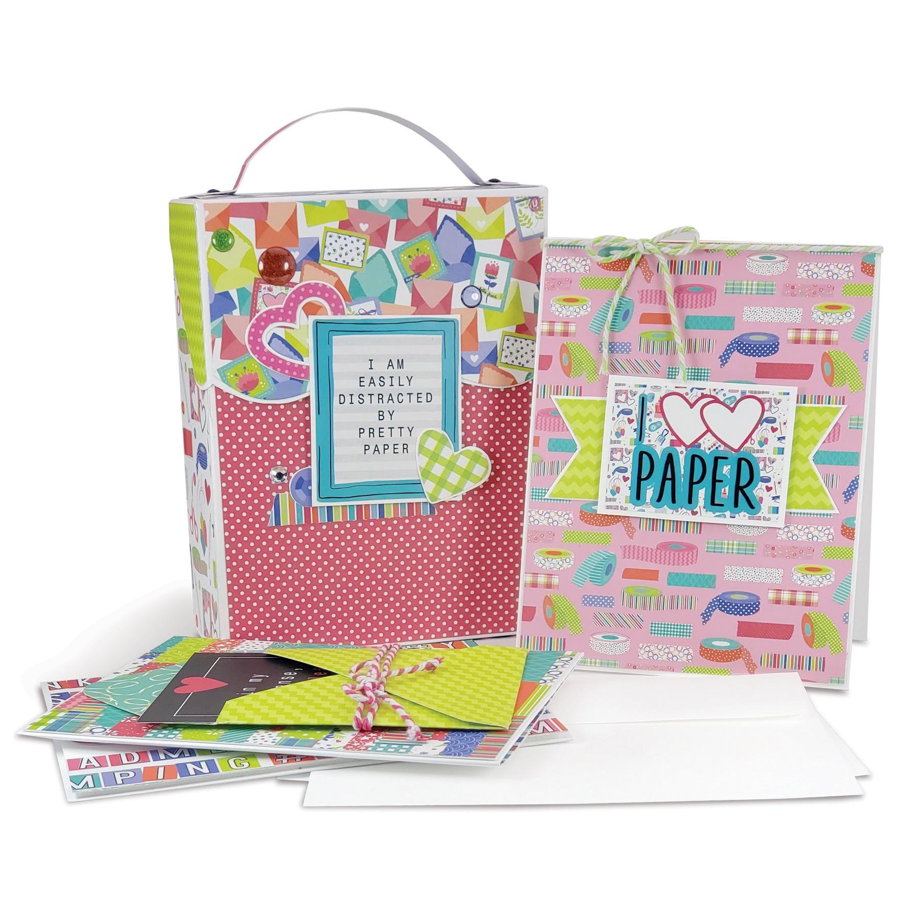 Photoplay Maker Series Cardbox Kit - White