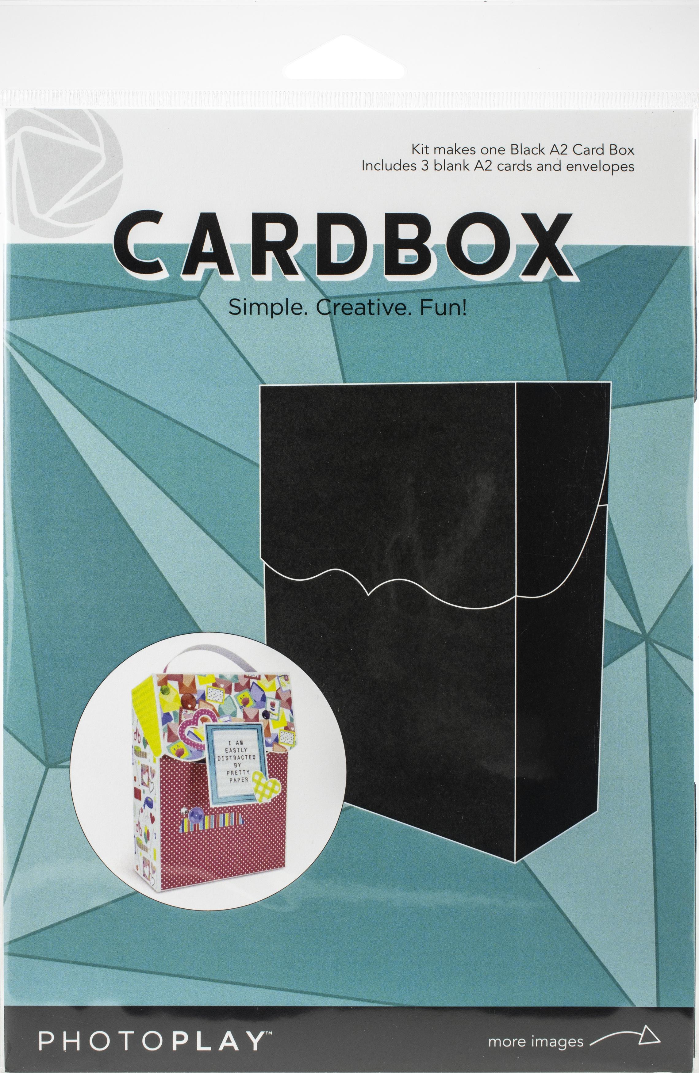 Card Box Kit - Black