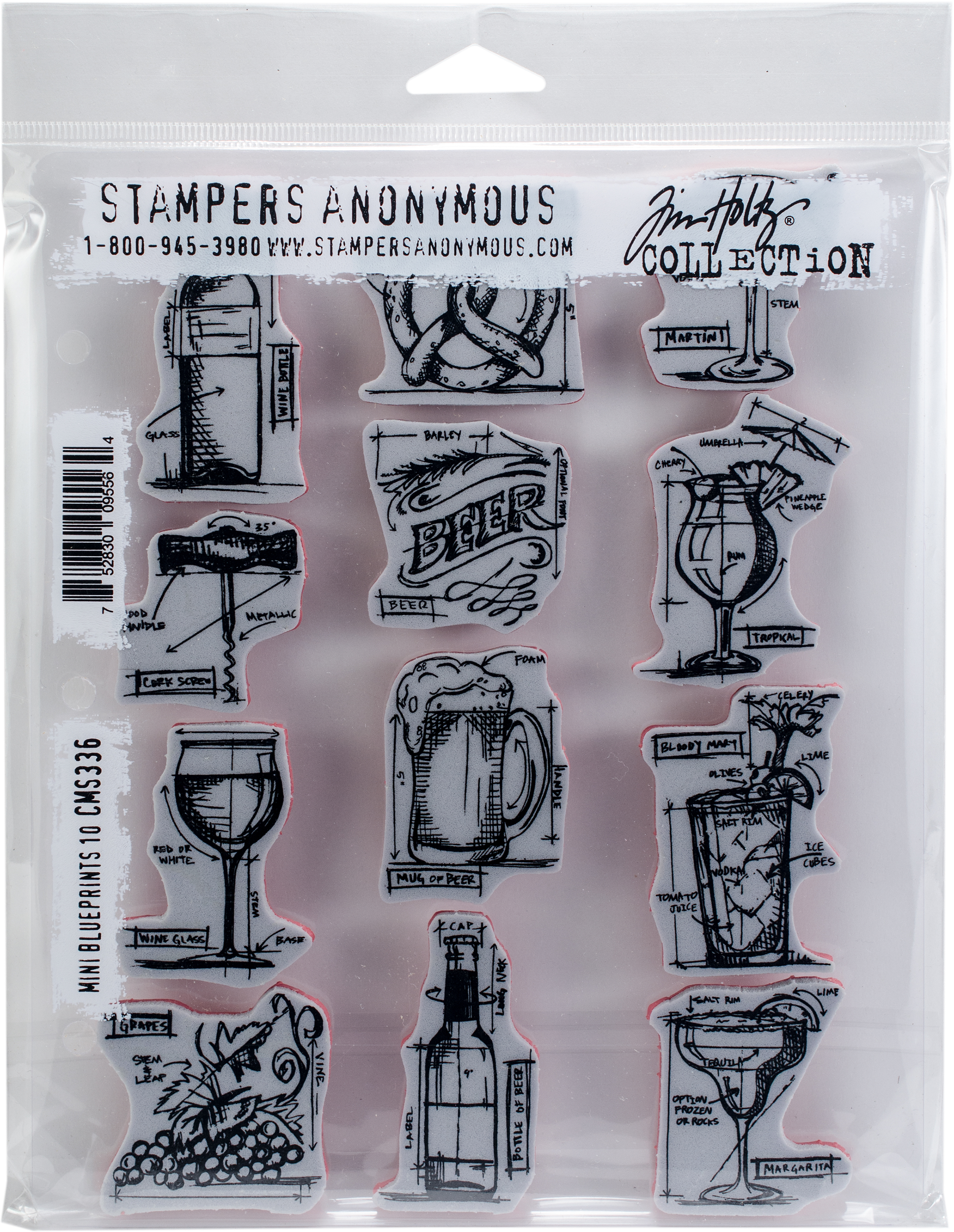 ^Tim Holtz Mini Blueprints 10