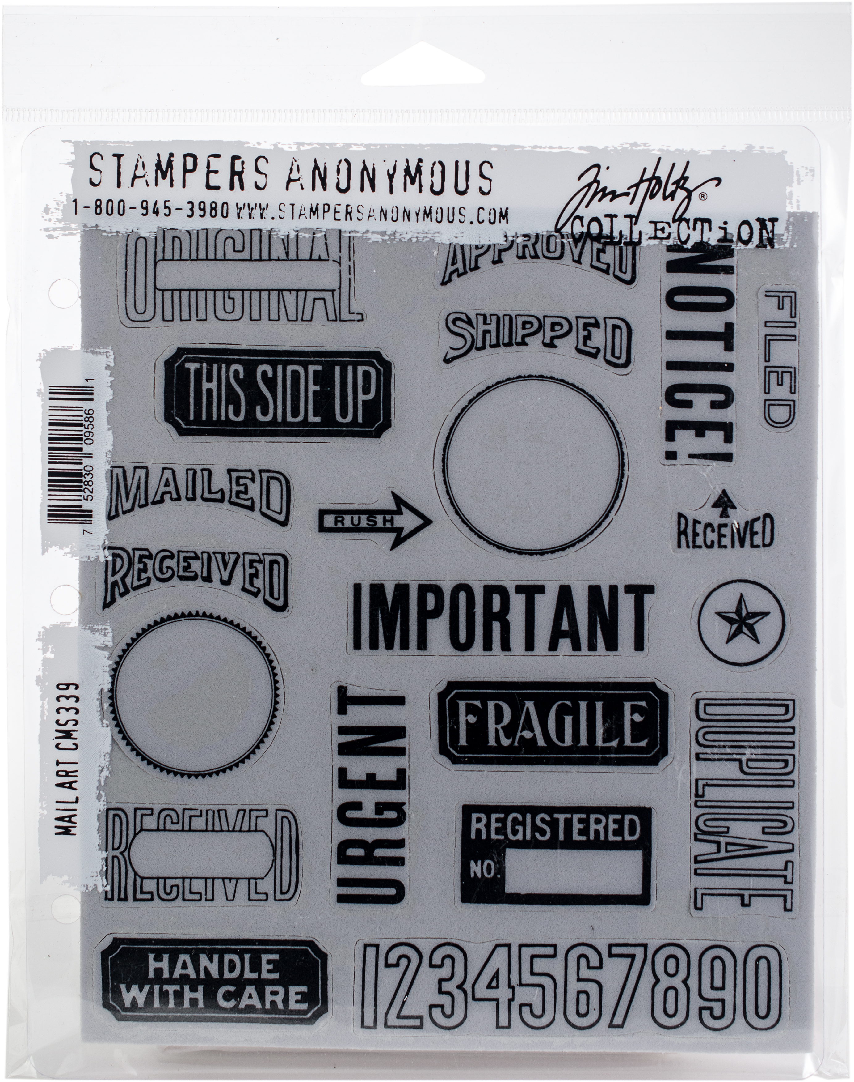 TH Cling Stamp - Mail Art