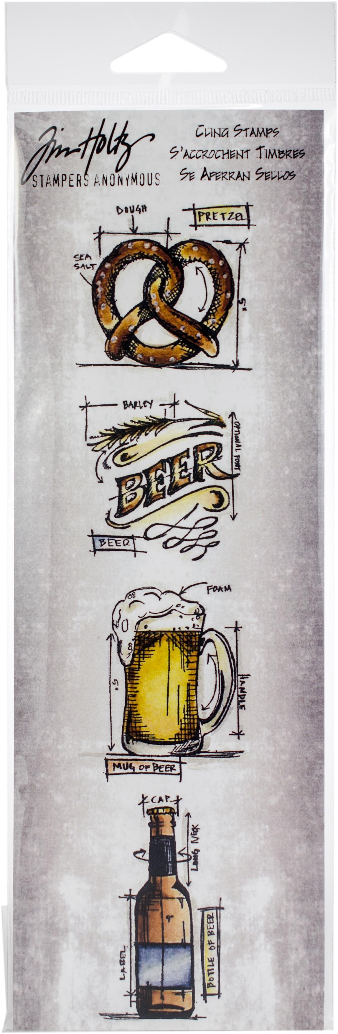 Beer Blueprint Strip