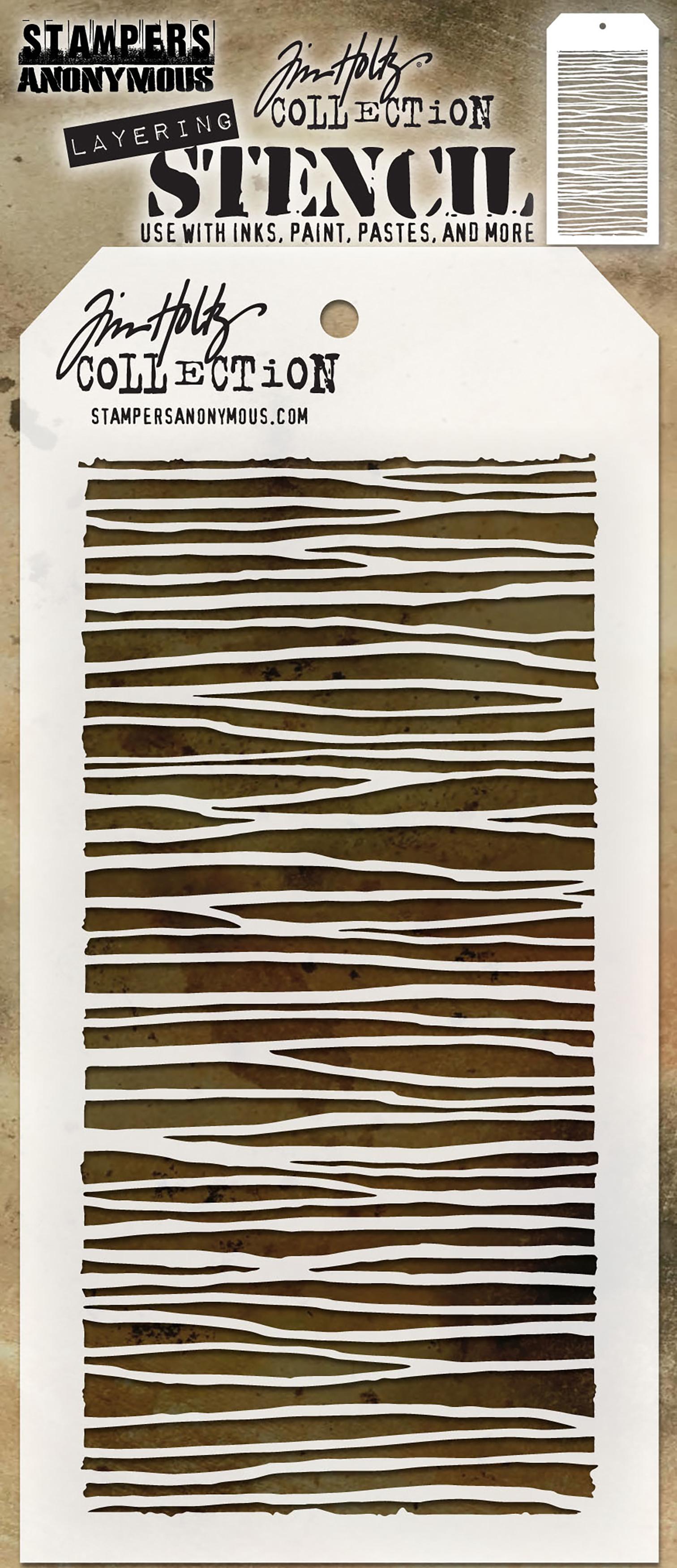 Tim Holtz Layered Stencil 4.125X8.5-String