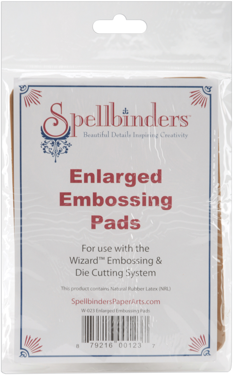 Spellbinders Embossing Pads Enlarged 2pc