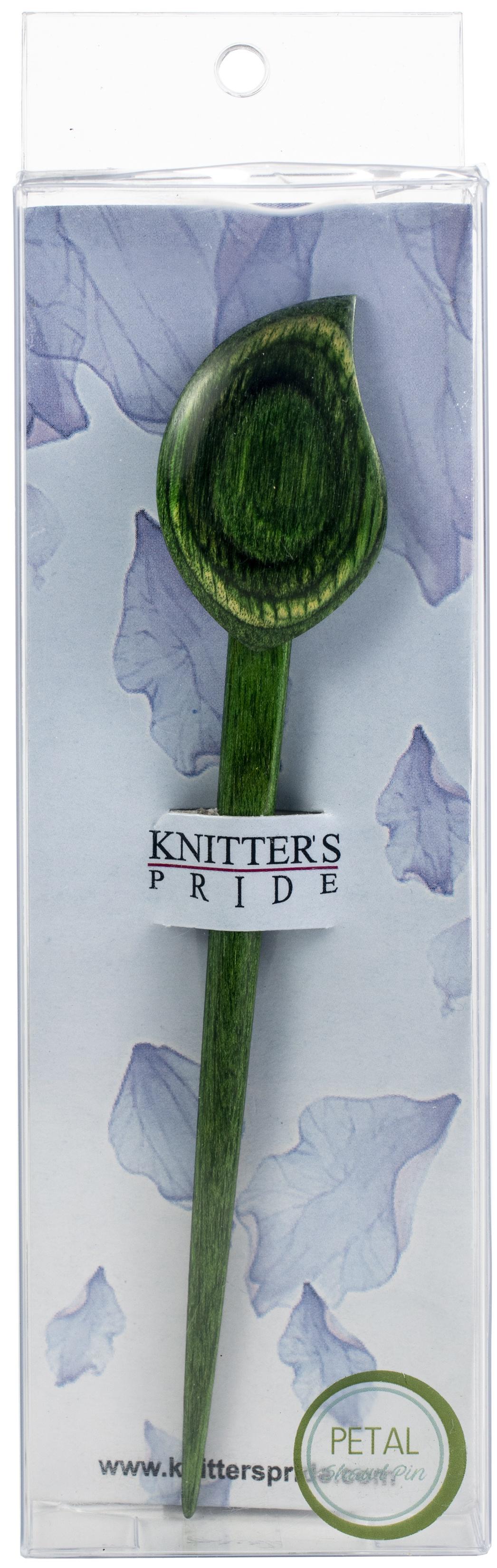Knitter's Pride Flora Shawl Stick-Petal - Dark Green