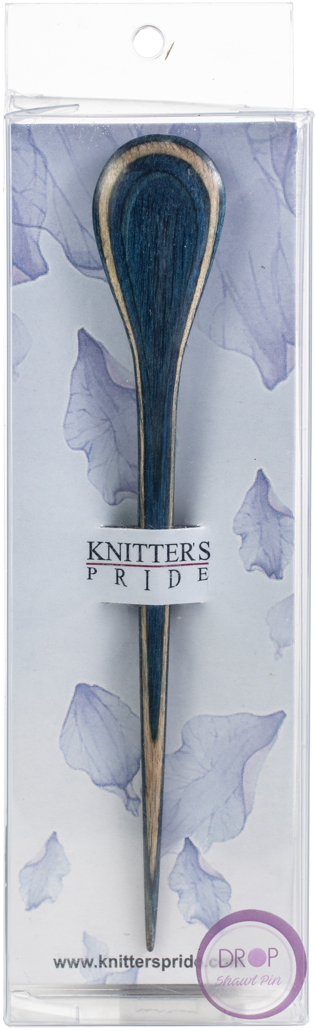 Knitter's Pride Flora Shawl Stick-Drop - Blue & Brown