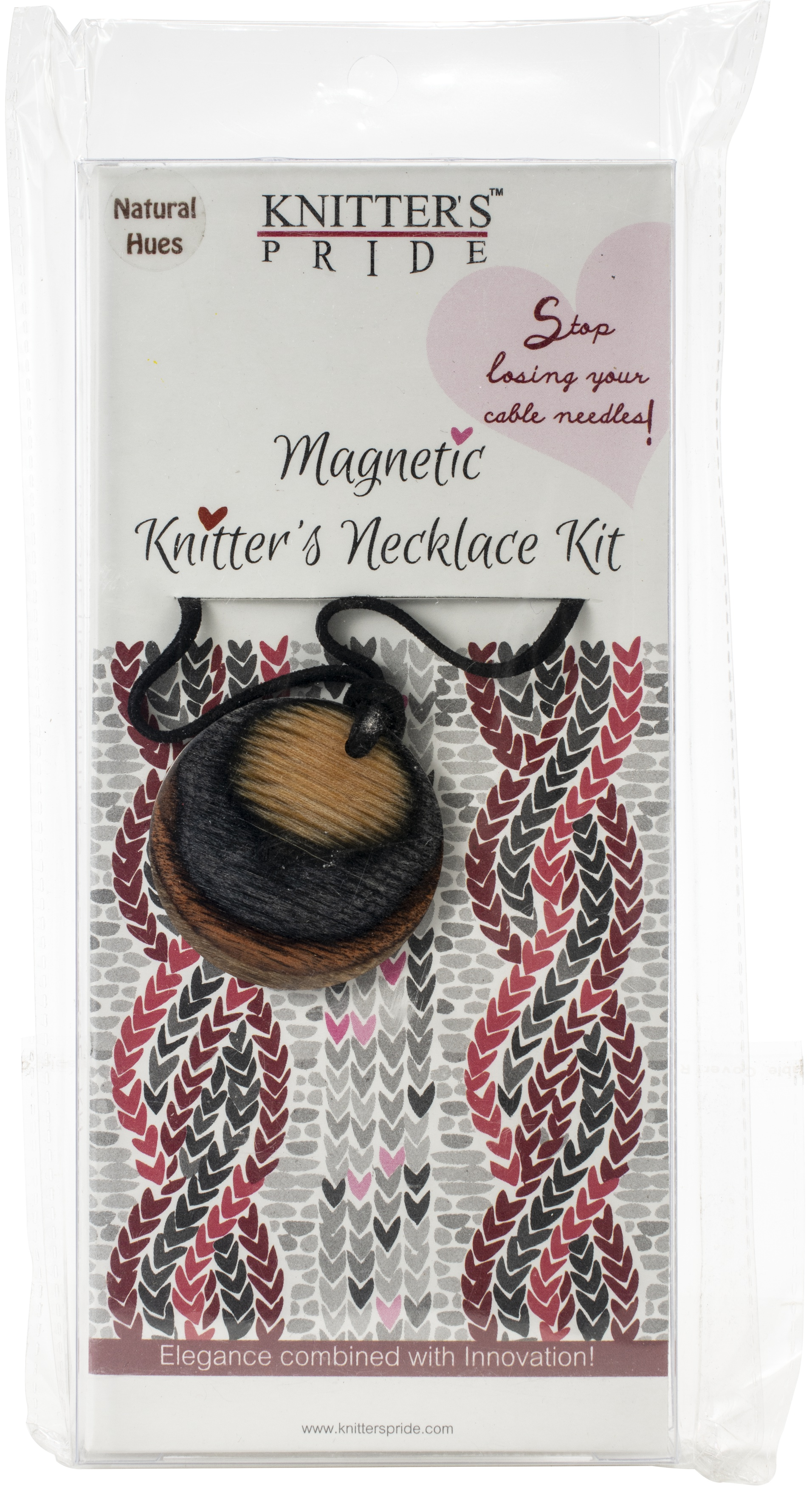Magnetic Knitter's Necklace Kit Natural