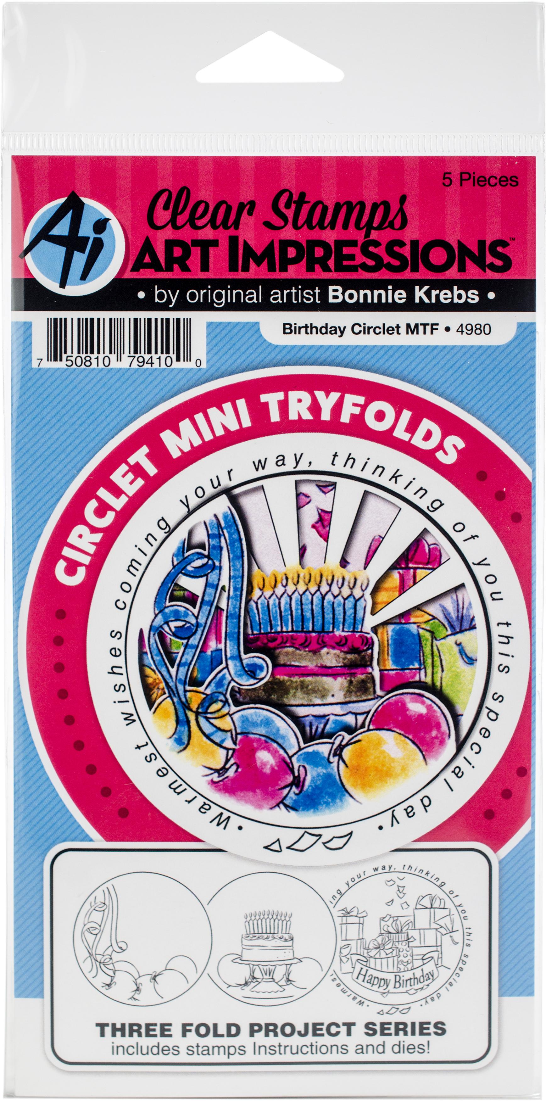 Birthday Circlet Stamp & Die Set