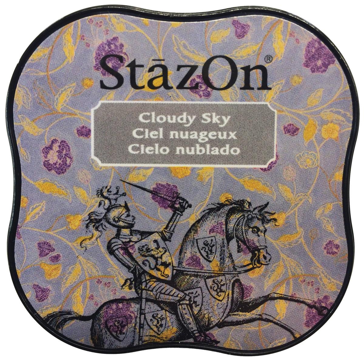 StazOn Midi Ink Pad-Cloudy Sky