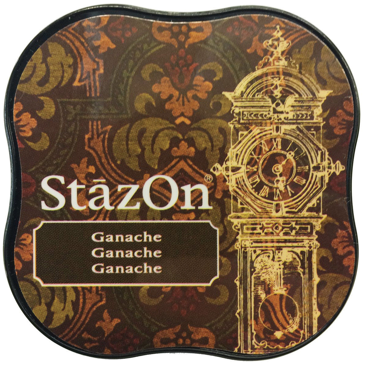 StazOn Midi Ink Pad-Ganache