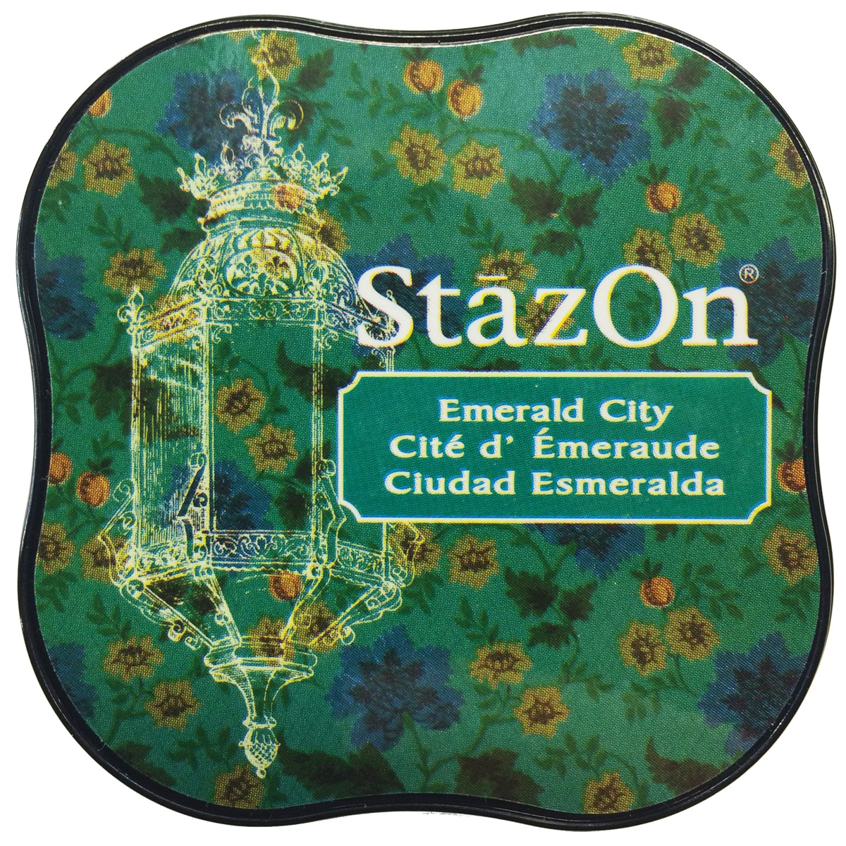 StazOn Midi Ink Pad-Emerald City