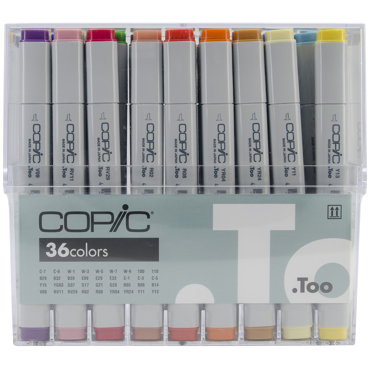Copic Original Markers Set 36/Pkg-Basic
