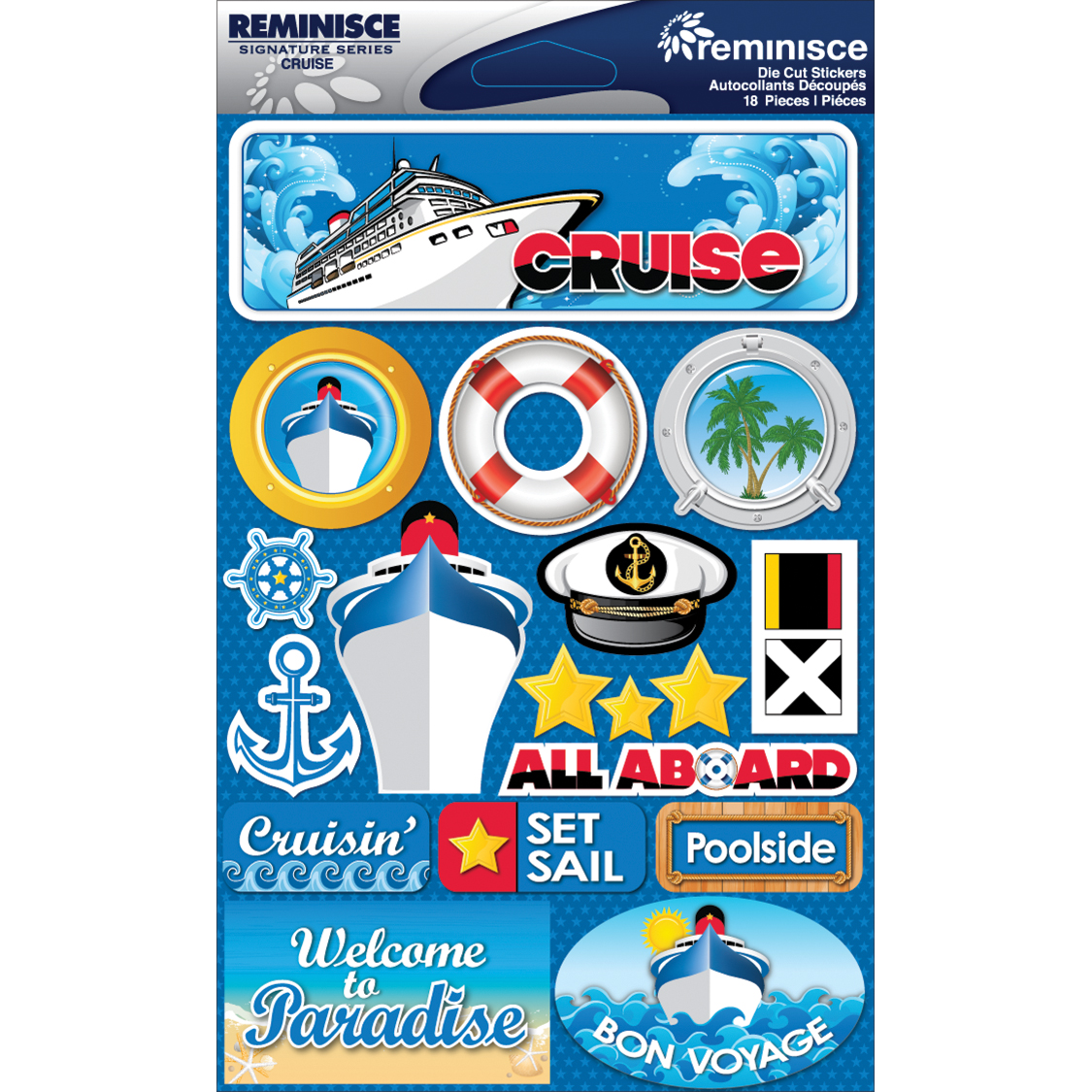 CRUISE    -SIGNATURE 3D STICKER