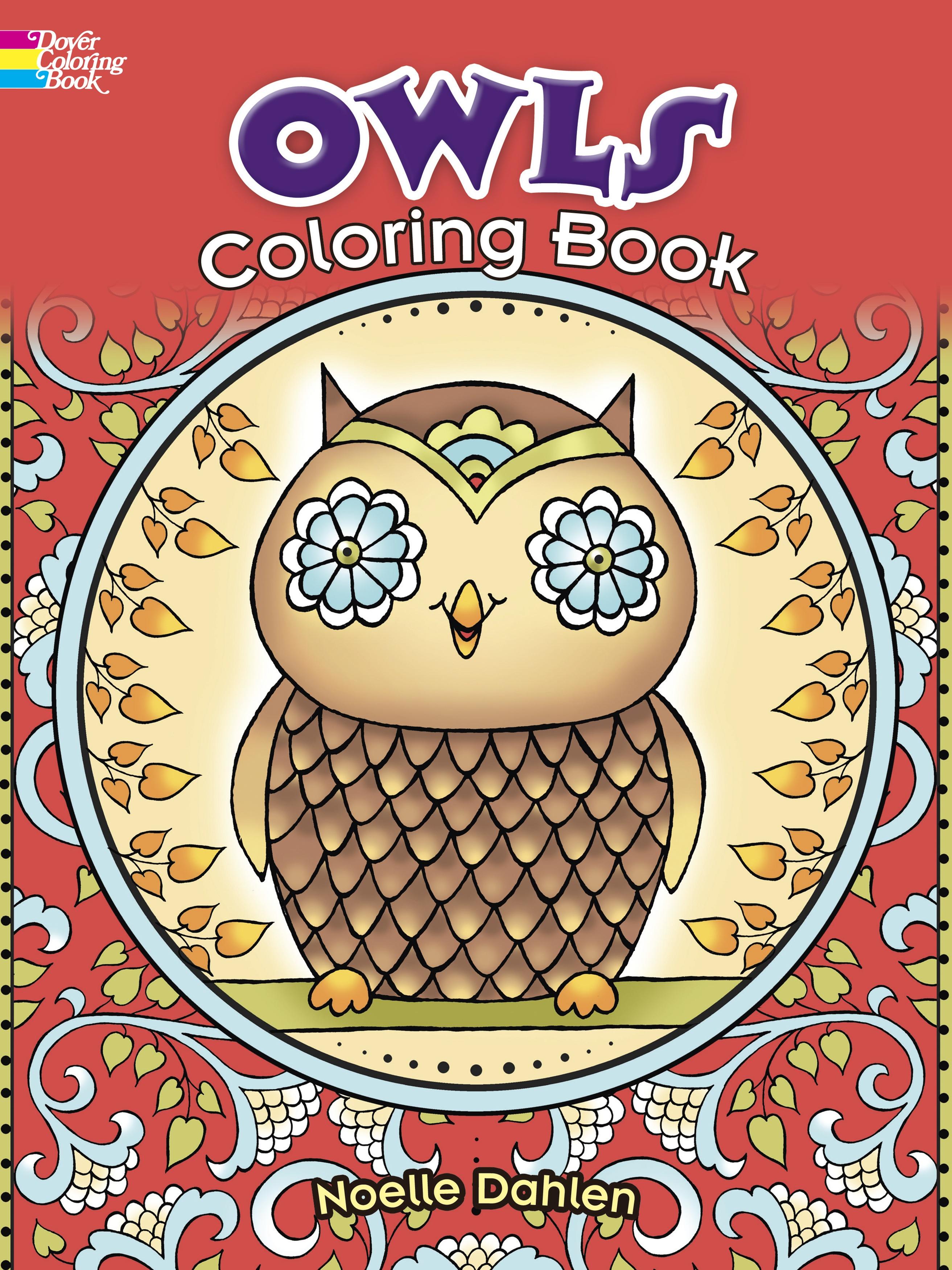 OWLS      -DOVER BOOKS