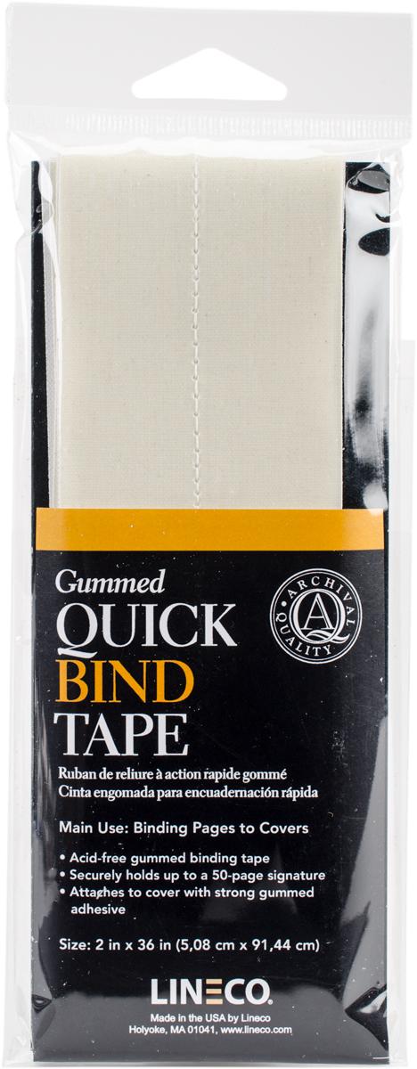 Lineco Gummed Quick Bind Tape-2X36