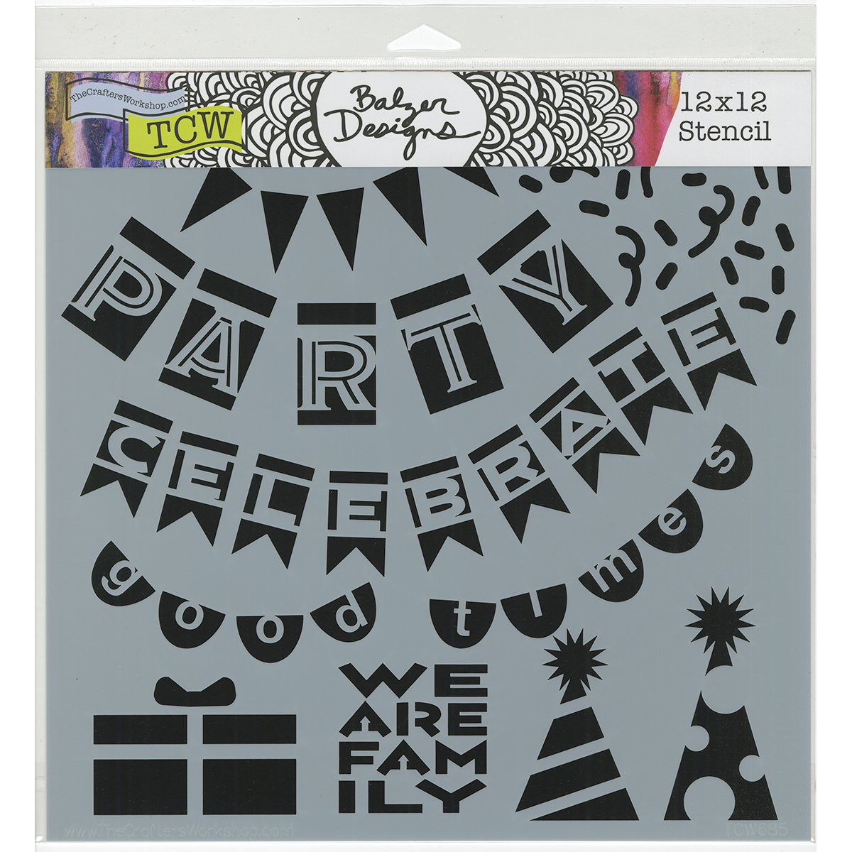 Party Banners 12x12
