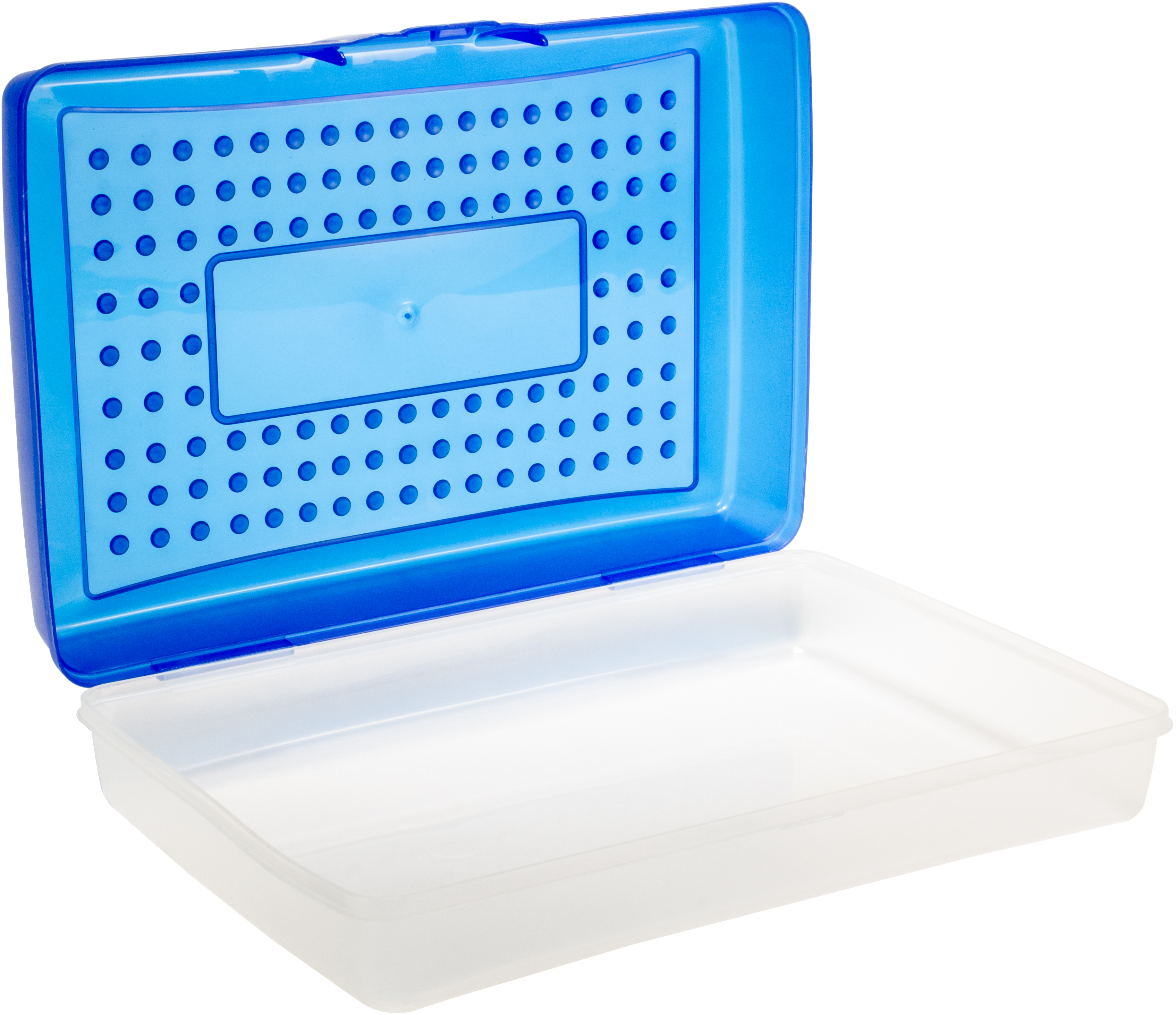 BLUE      -LARGE PENCIL CASE