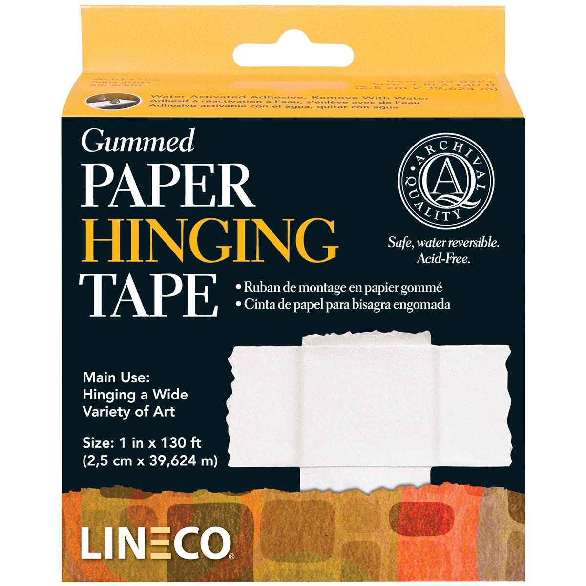 LINECO PAPER/HINGE GUMD TPE 1X130