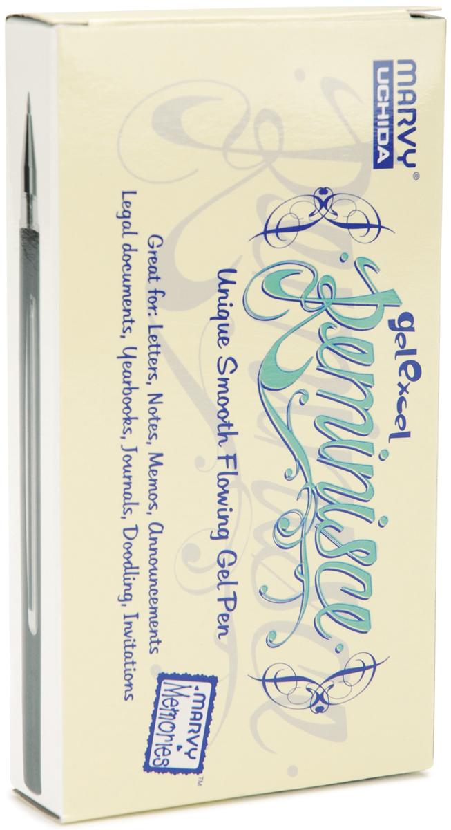 Marvy Uchida Reminisce Gel Pen Open Stock-White