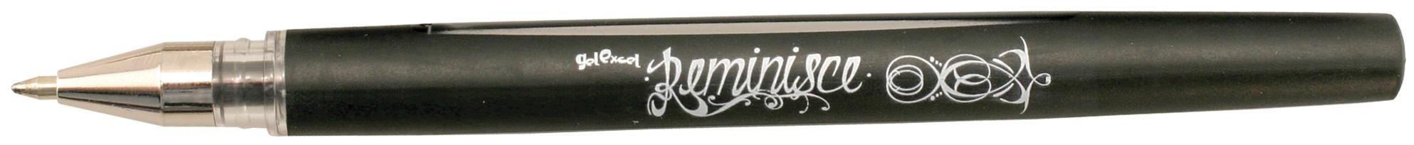Reminisce Gel Pen Black