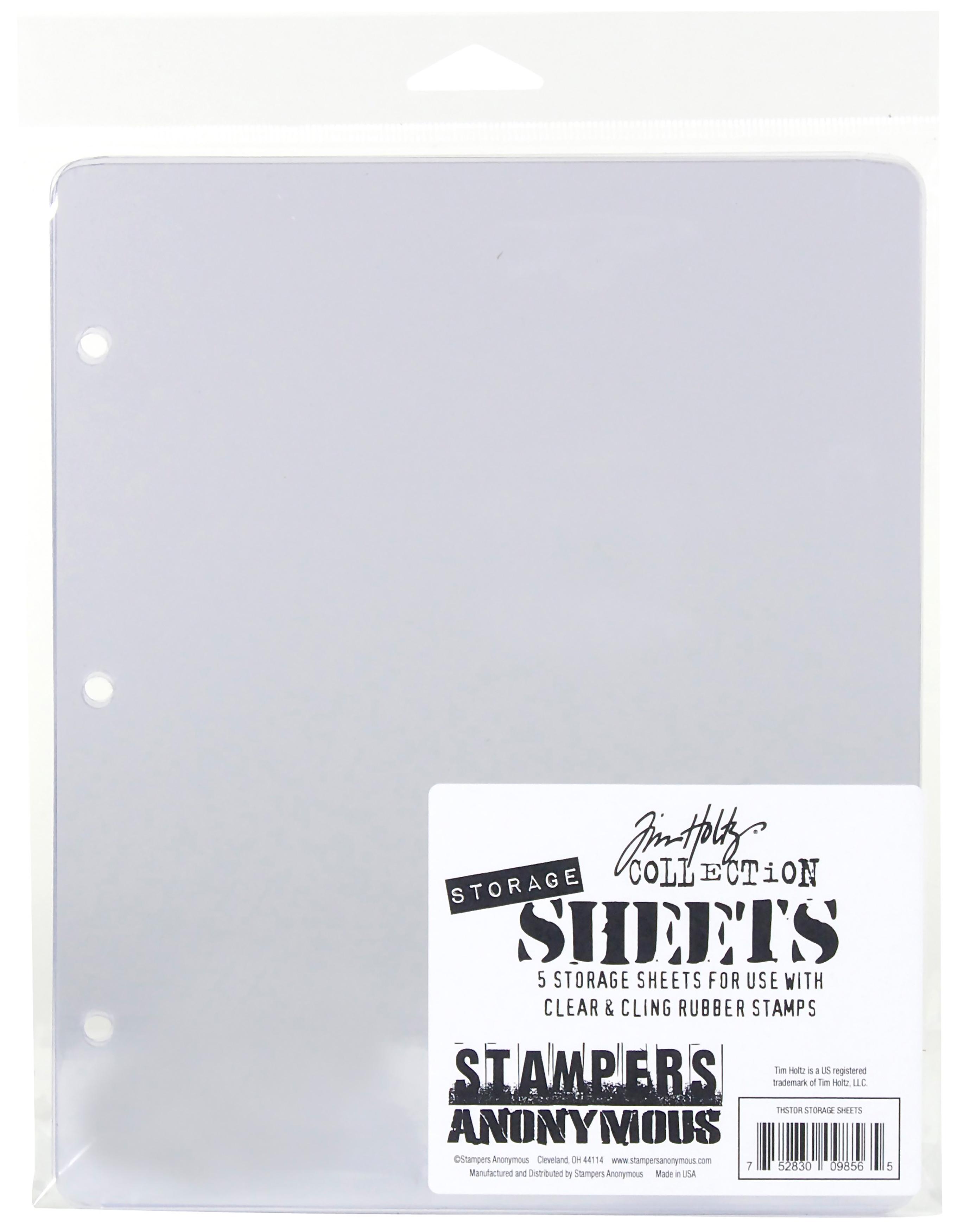 Storage Sheets