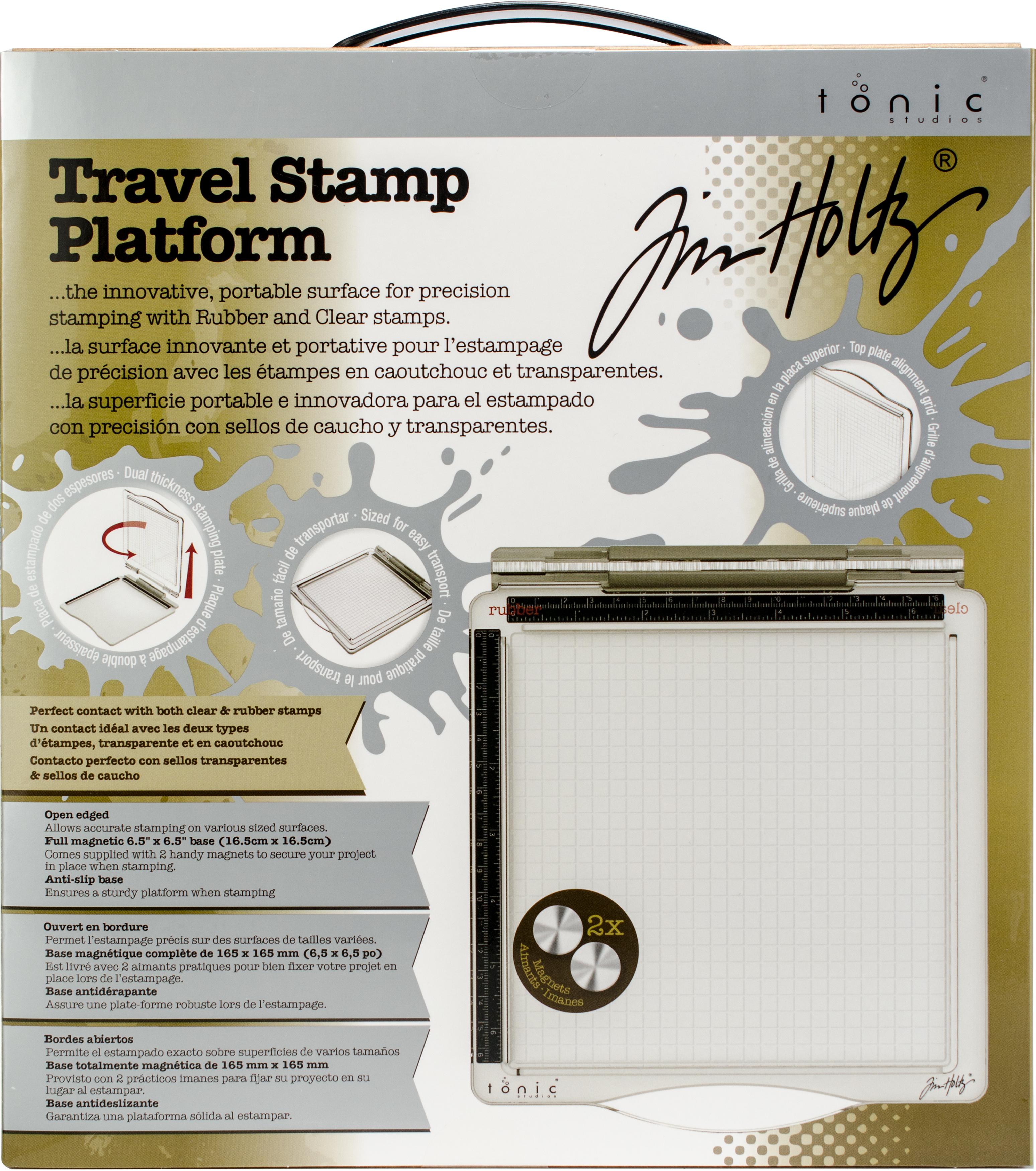 Tim Holtz Travel Stamp Platform