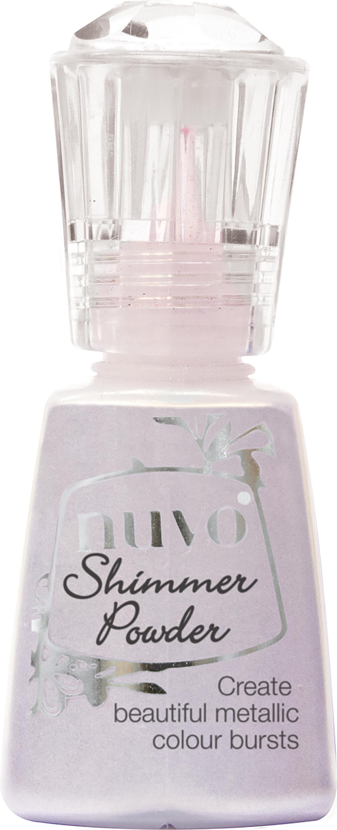Nuvo Shimmer Powder Violet Brocade