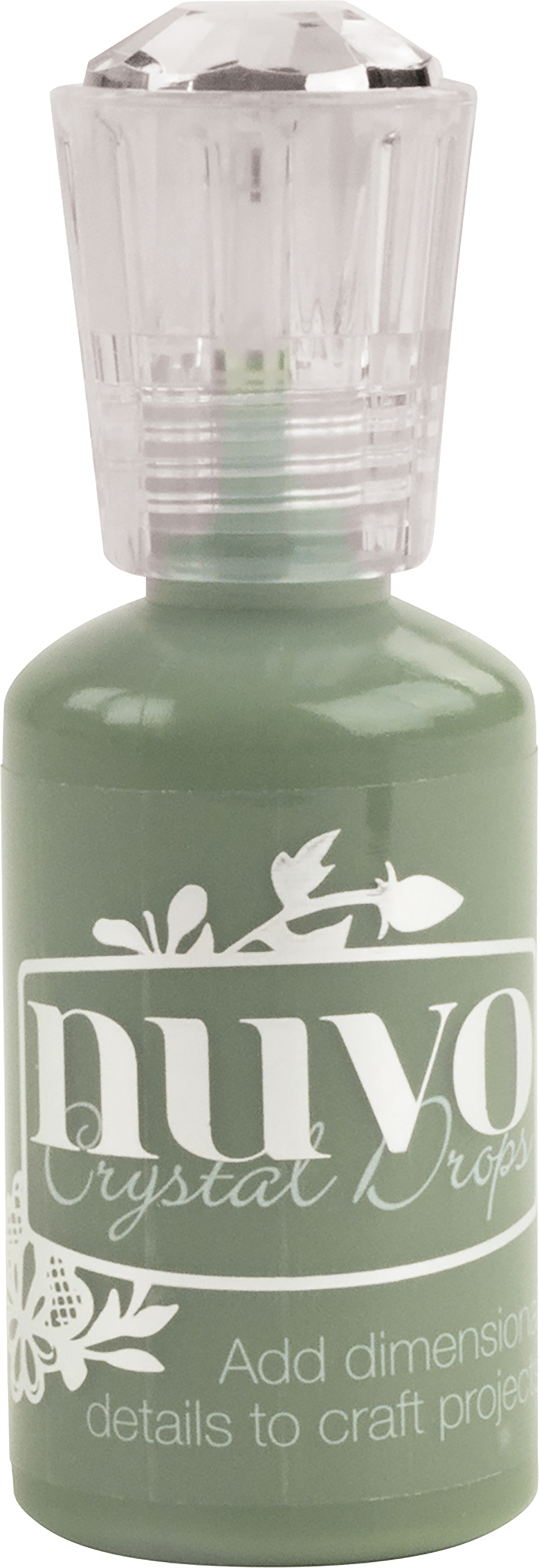Nuvo Crystal Drops 1.1oz-Olive Branch